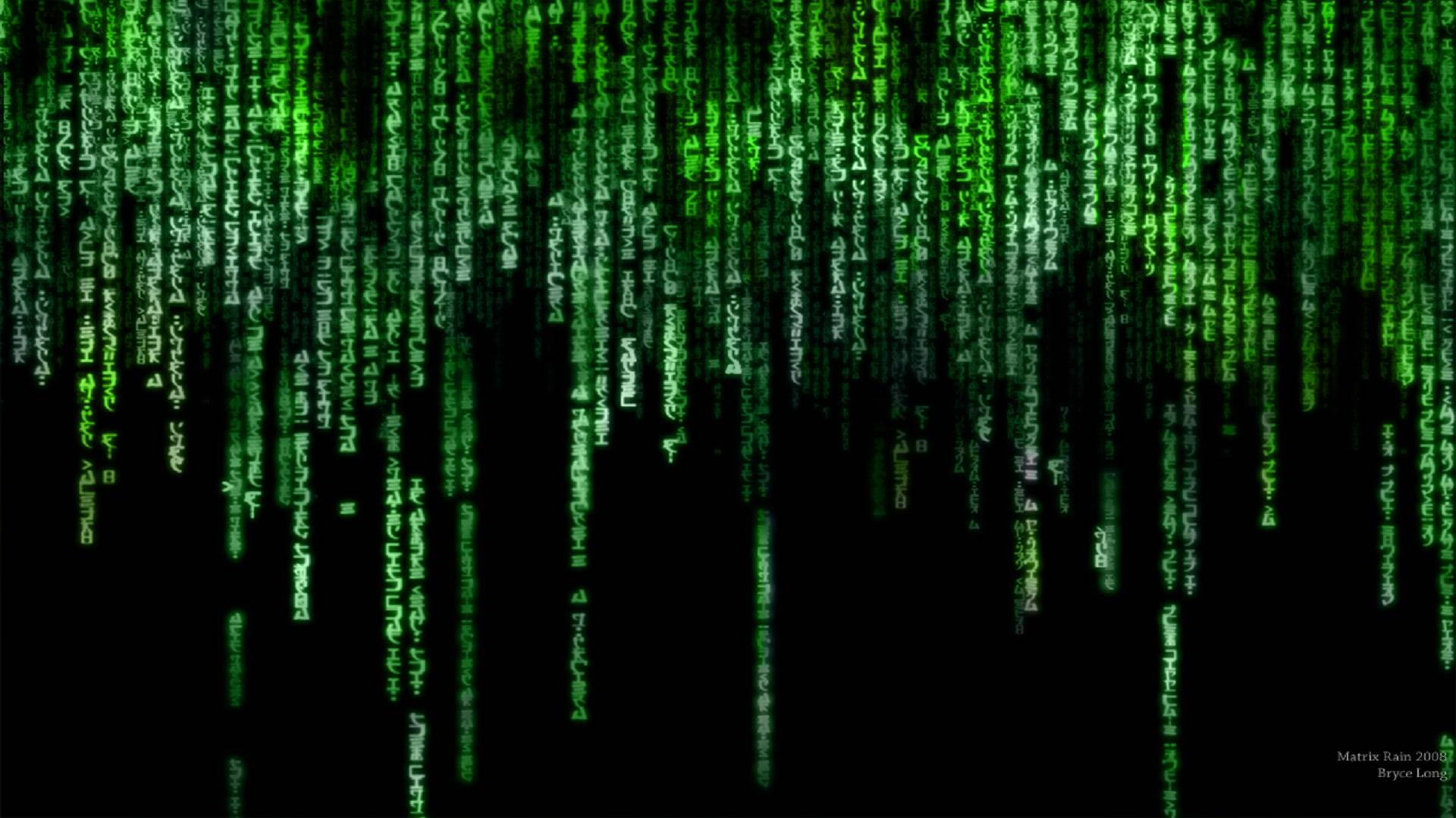 The Matrix Rain Wallpapers In Full Hd Wallpaper Cave