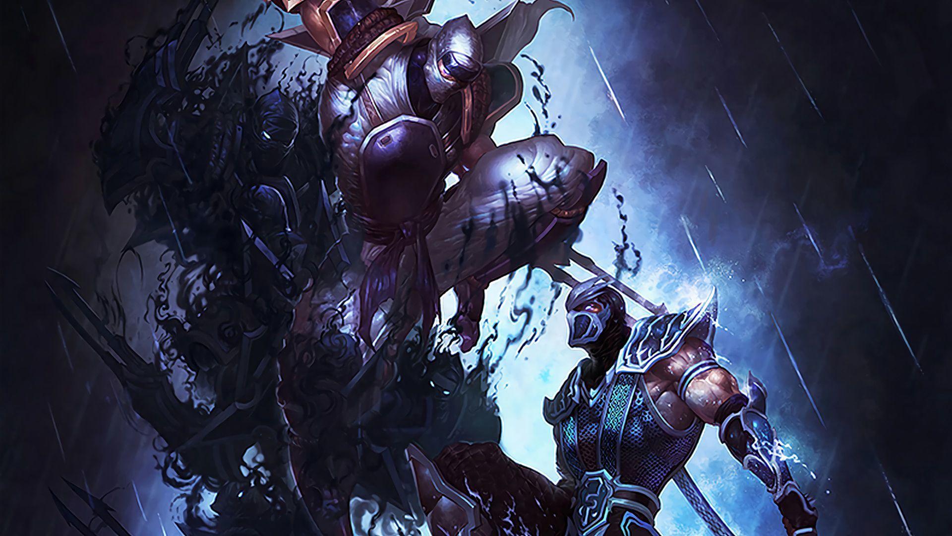 League Of Legends Wallpapers Hd Zed Wallpaper Cave