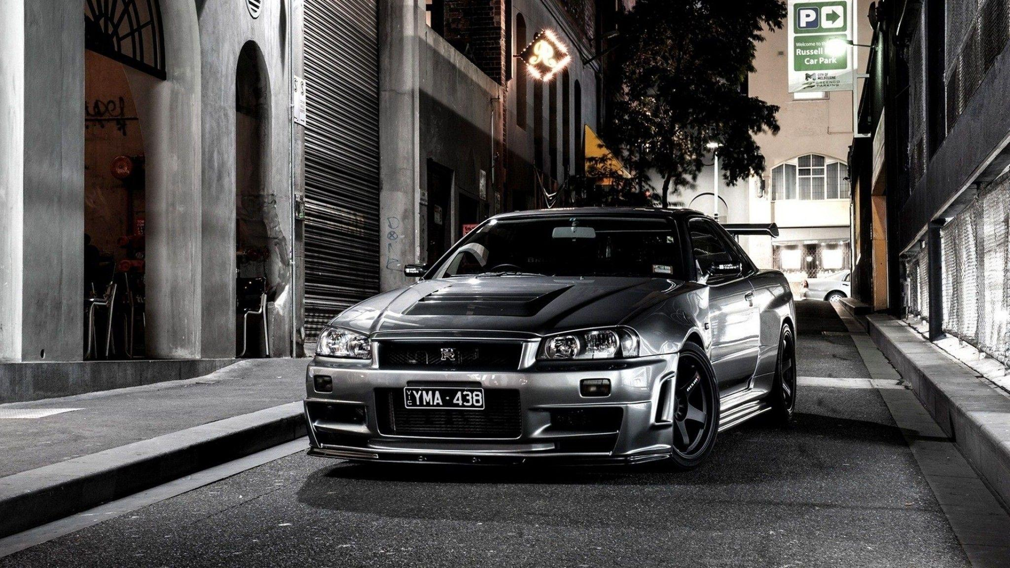Skyline R34 Wallpapers Hd Wallpaper Cave