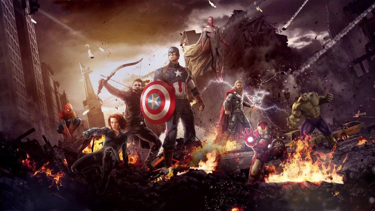 Marvel's The Avengers With Animated Fire Live Wallpapers [1080p HD