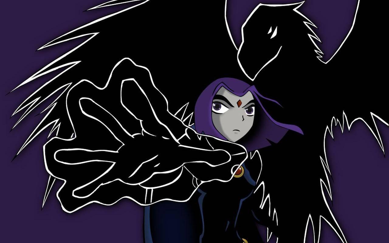 Teen Titan Raven Wallpapers - Wallpaper Cave