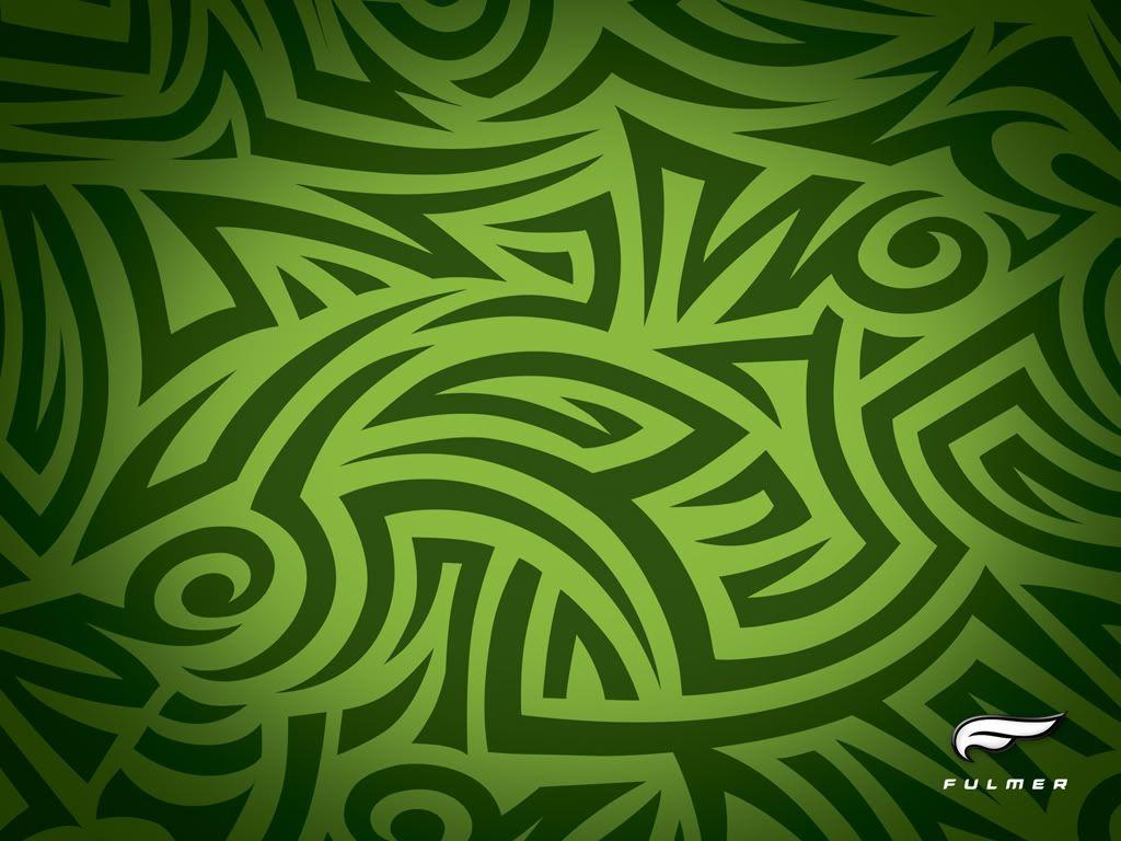 Green Tribal Design Pinterest