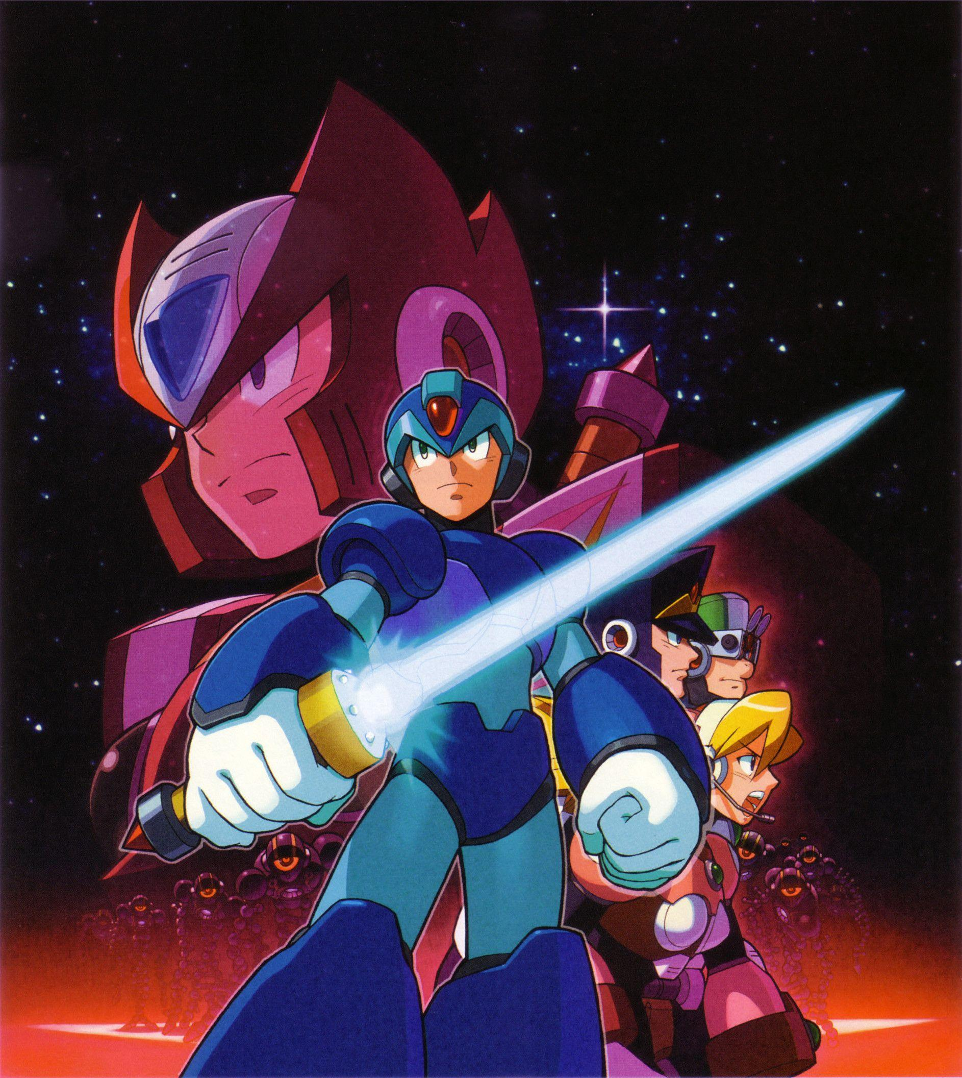 Megaman X Wallpapers Iphone Wallpaper Cave