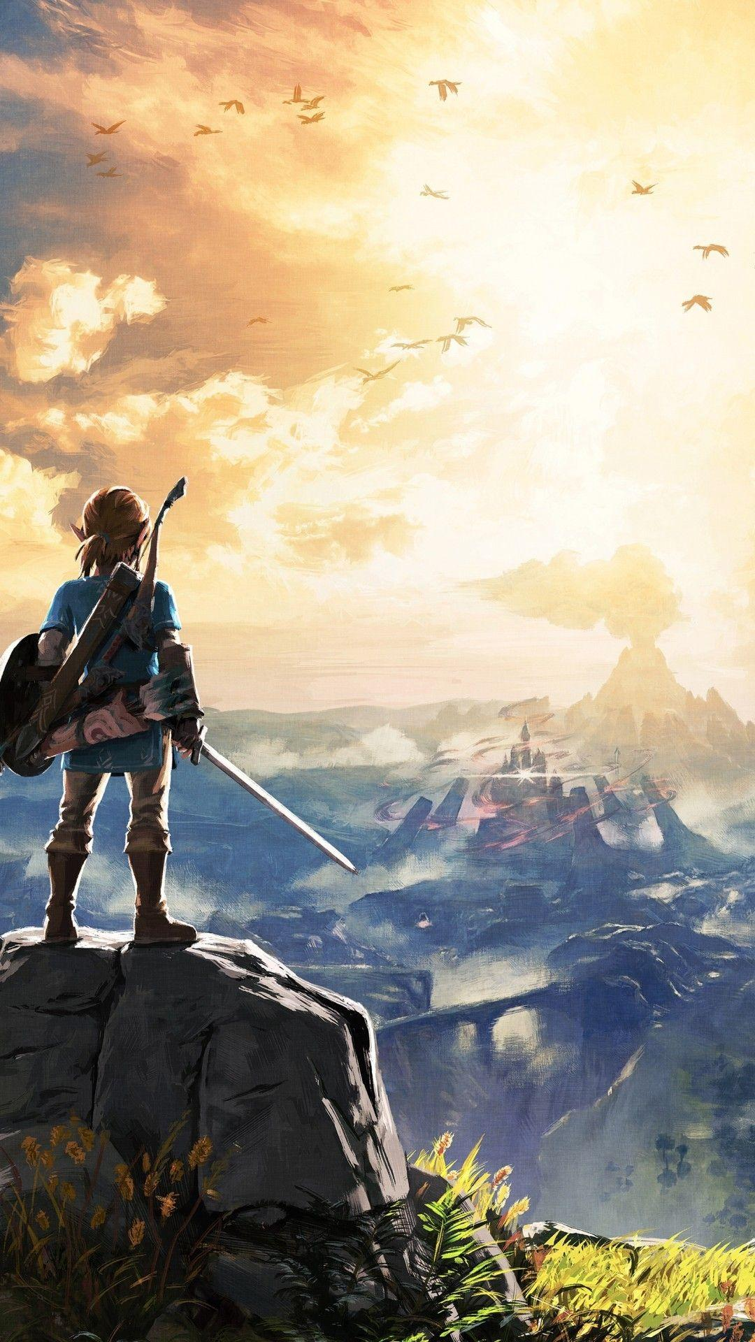 Zelda Iphone Wallpapers Wallpaper Cave