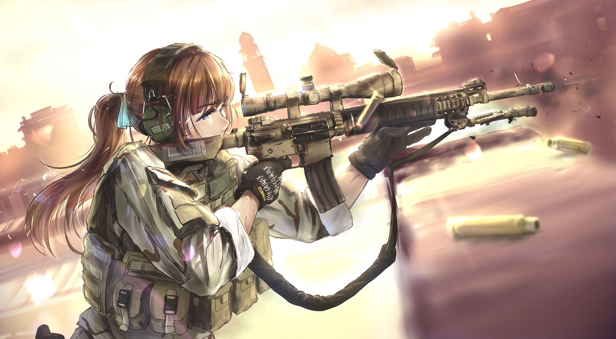 Anime Soldier Wallpapers - Wallpaper Cave