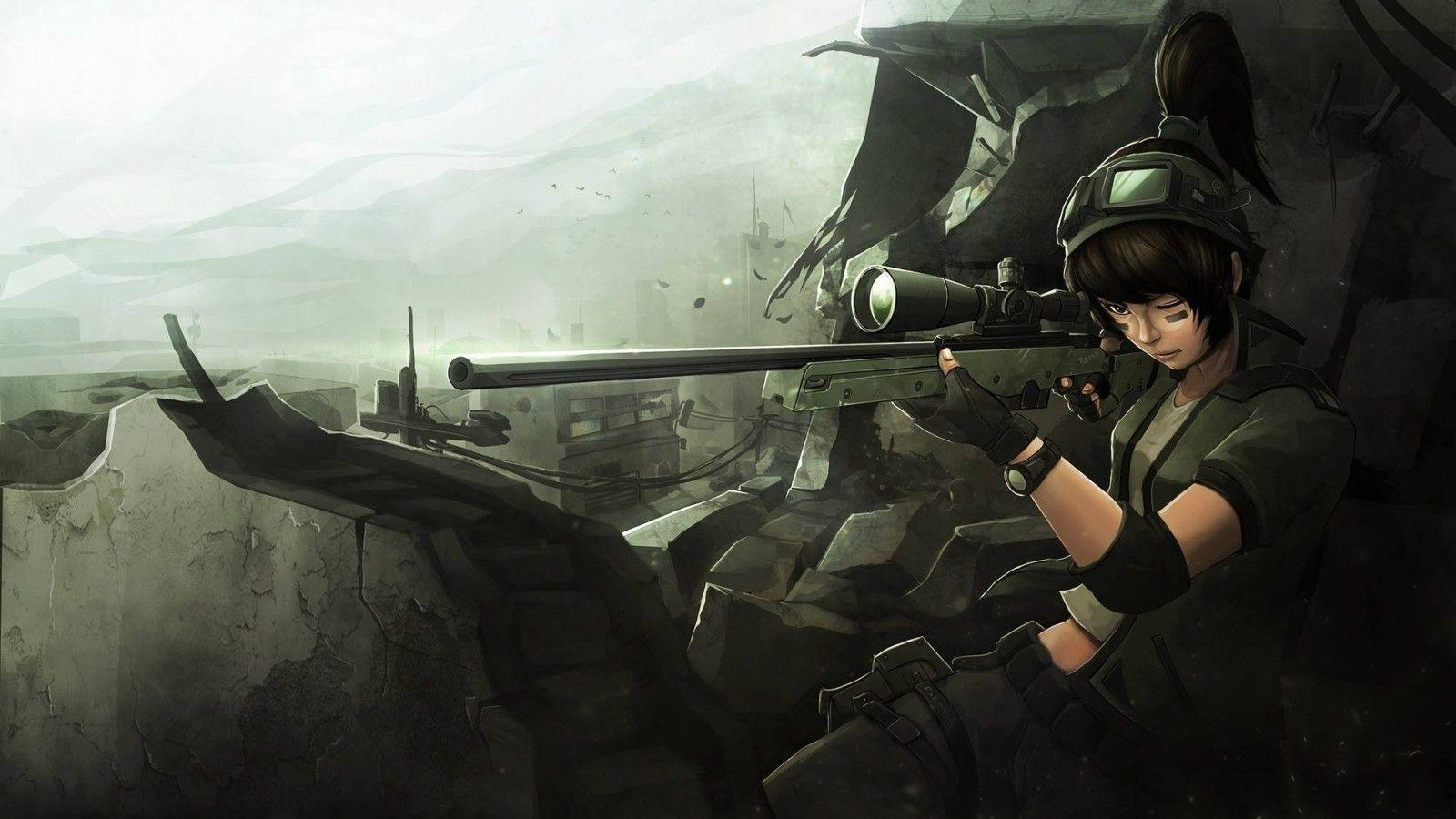 Anime soldier wallpapers wallpaper cave - Anime war wallpaper ...