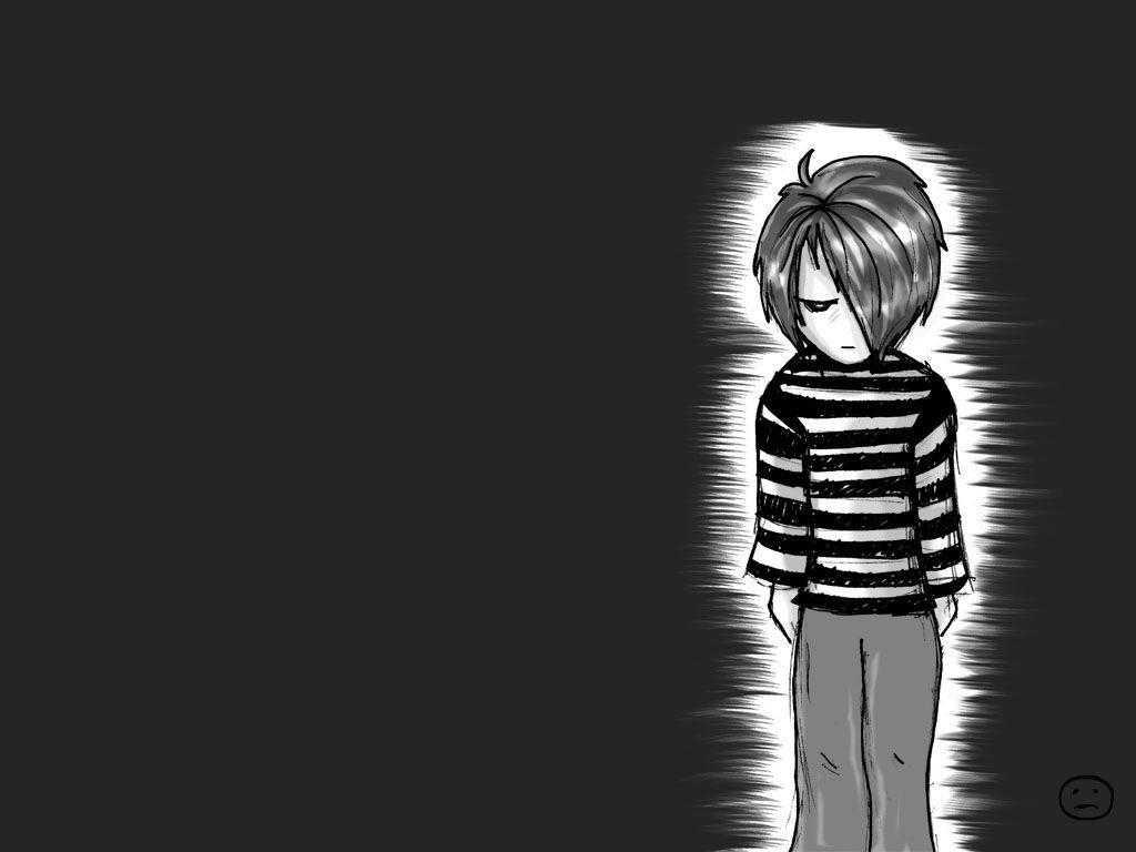 Sad Boy Anime Wallpapers - Wallpaper Cave