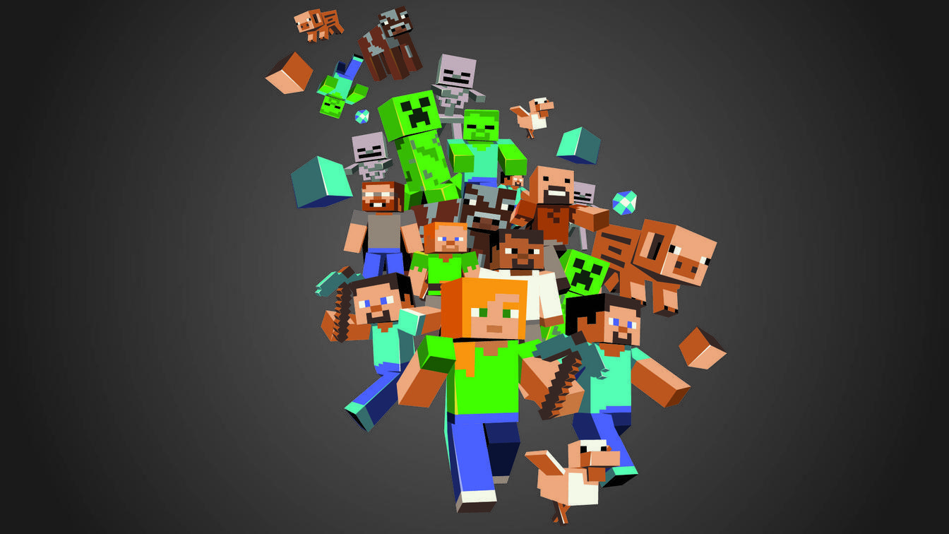Minecraft Wallpapers For Ps3