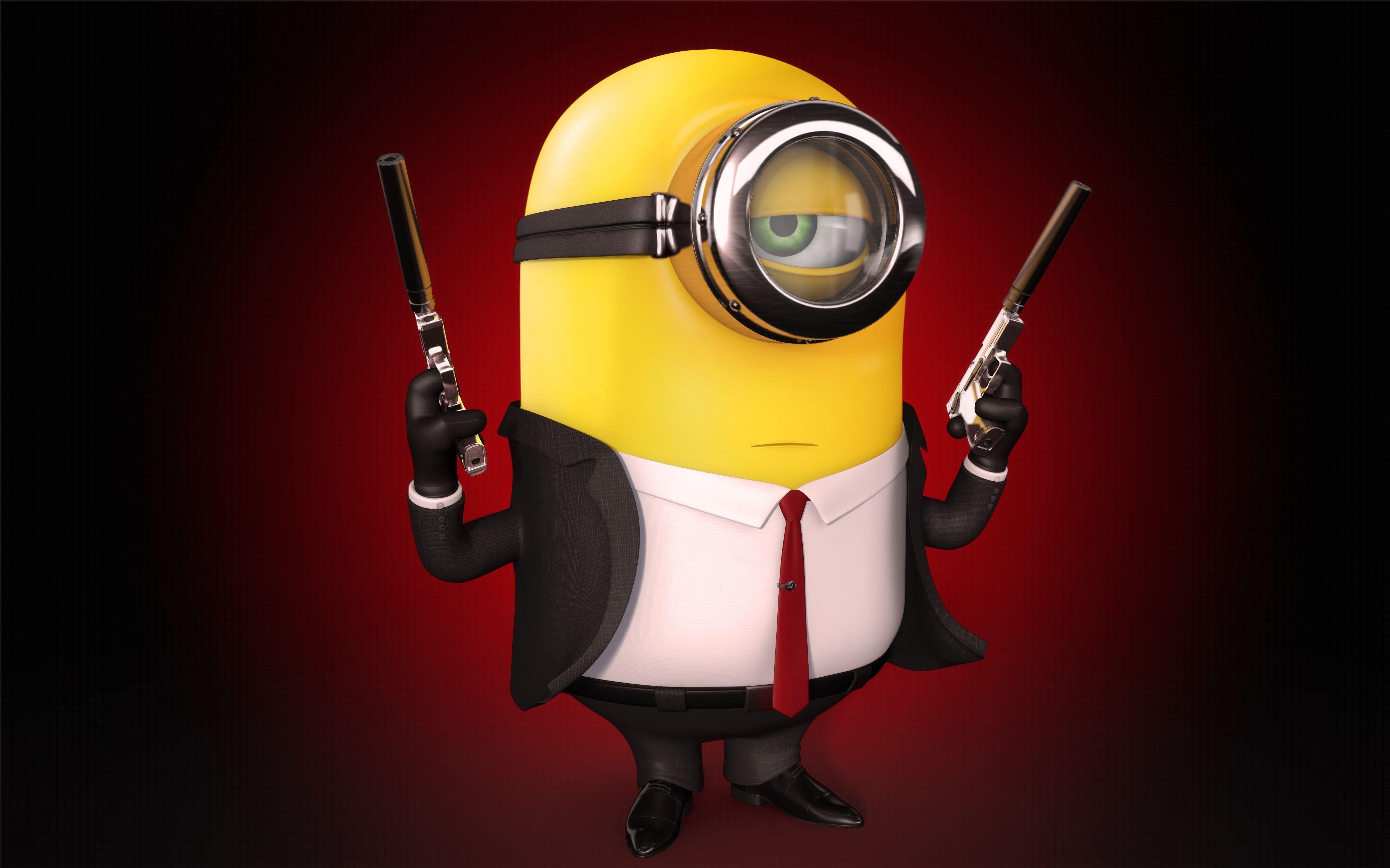 Minions 3D HD Wallpapers Wallpaper Cave