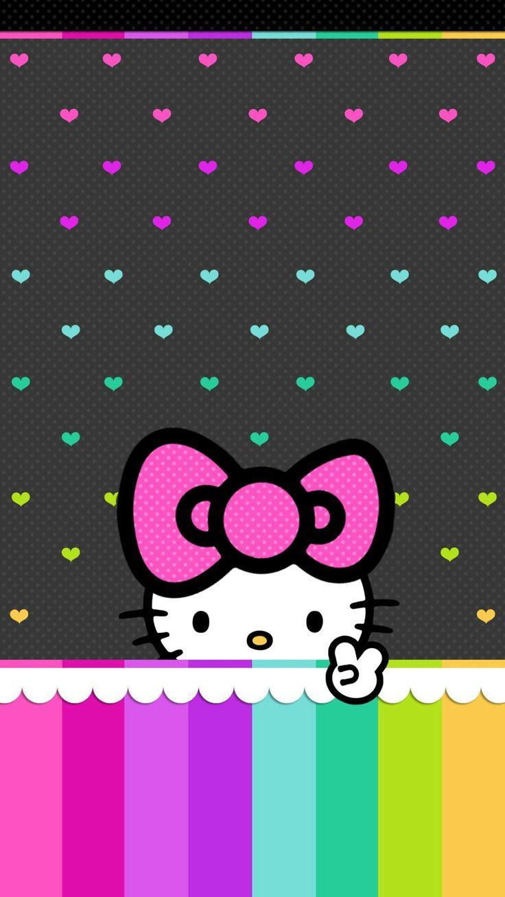 Hello Kitty Iphone Wallpaper Pinterest