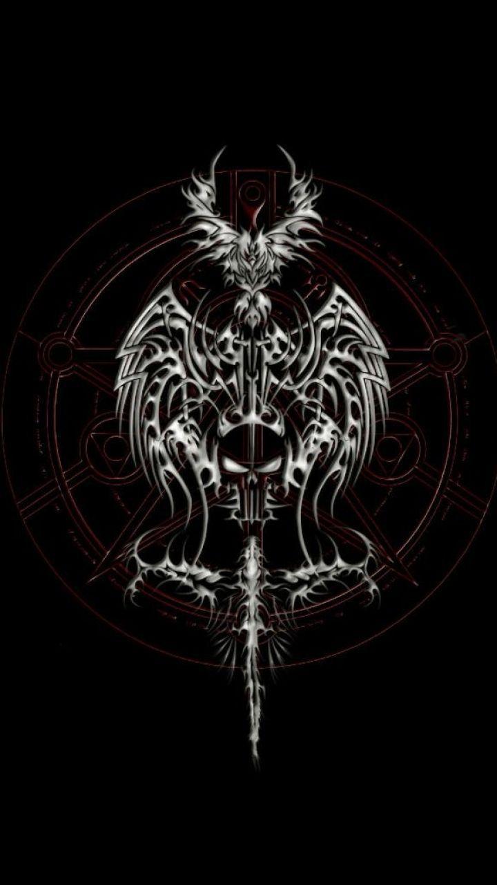 Satanic Symbols Wallpaper