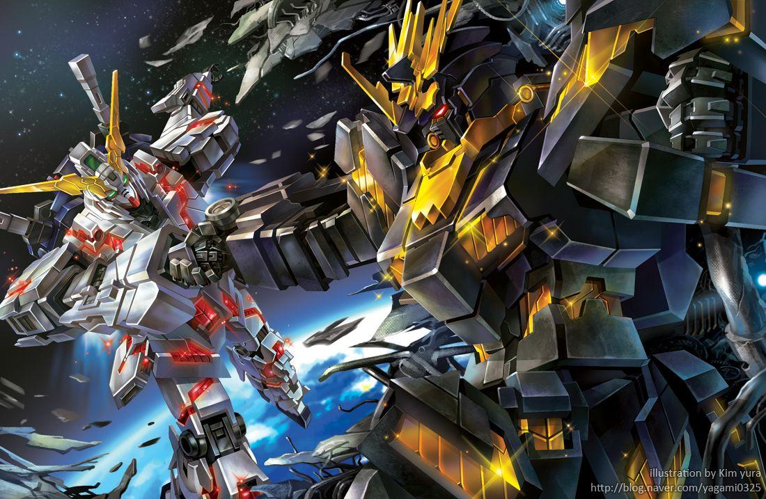 Gundam Banshee Wallpapers HD - Wallpaper Cave
