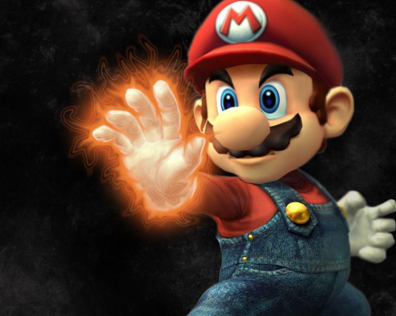 Super Mario Bros Wallpapers Hd Wallpaper Cave