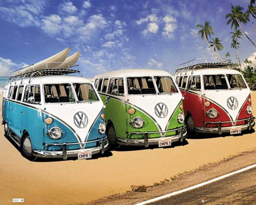 Volkswagen Bus Wallpapers For Mac