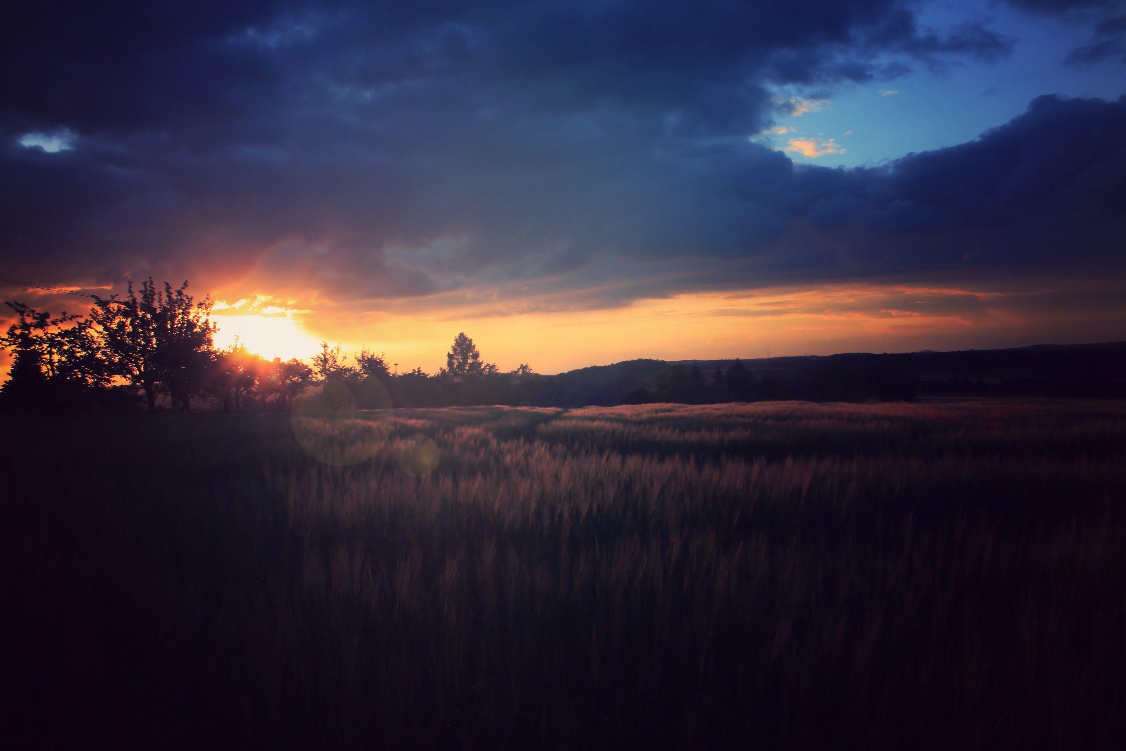 Wallpaper : 3888x2592 px, nature, night, sunset 3888x2592 - goodfon .