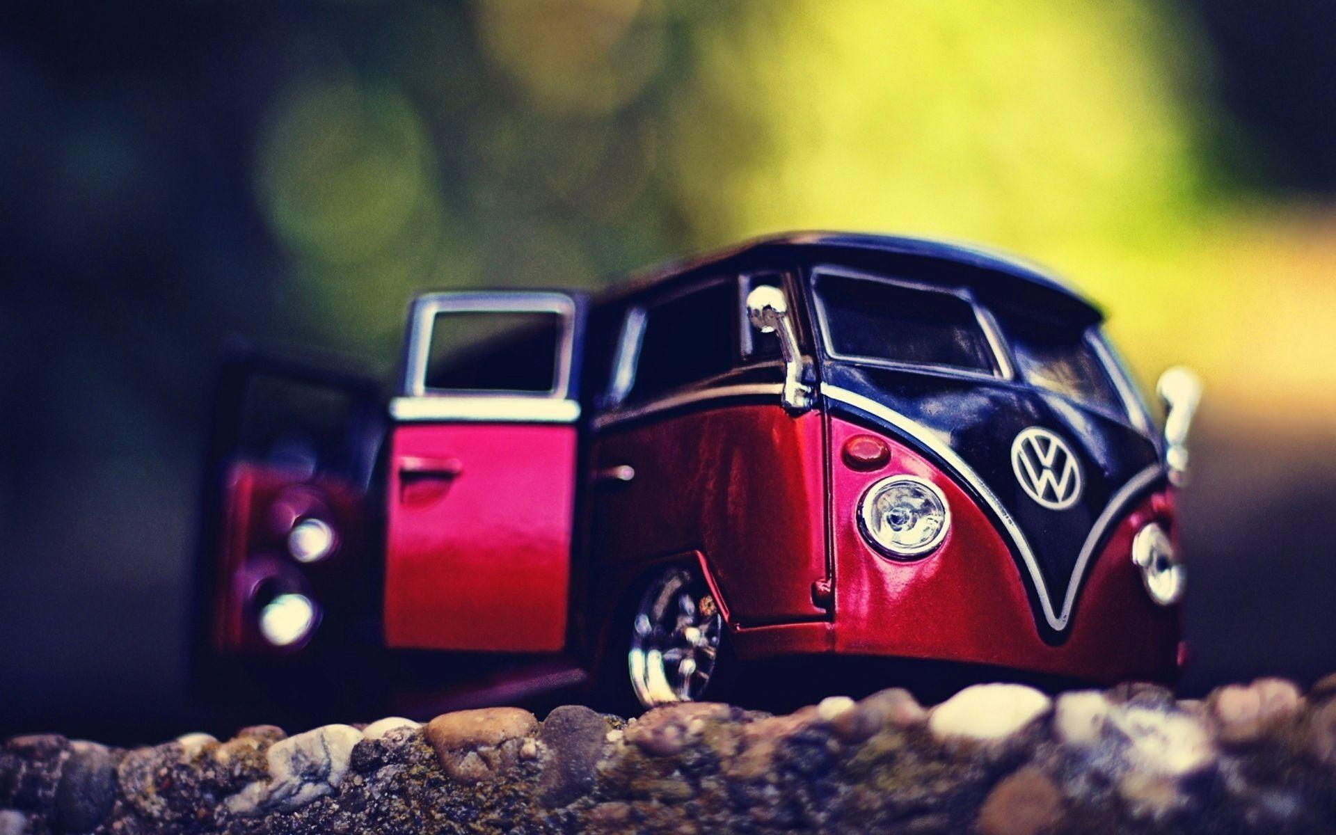 Vw Volkswagen Combi Van Bus Wallpapers Beach Art X
