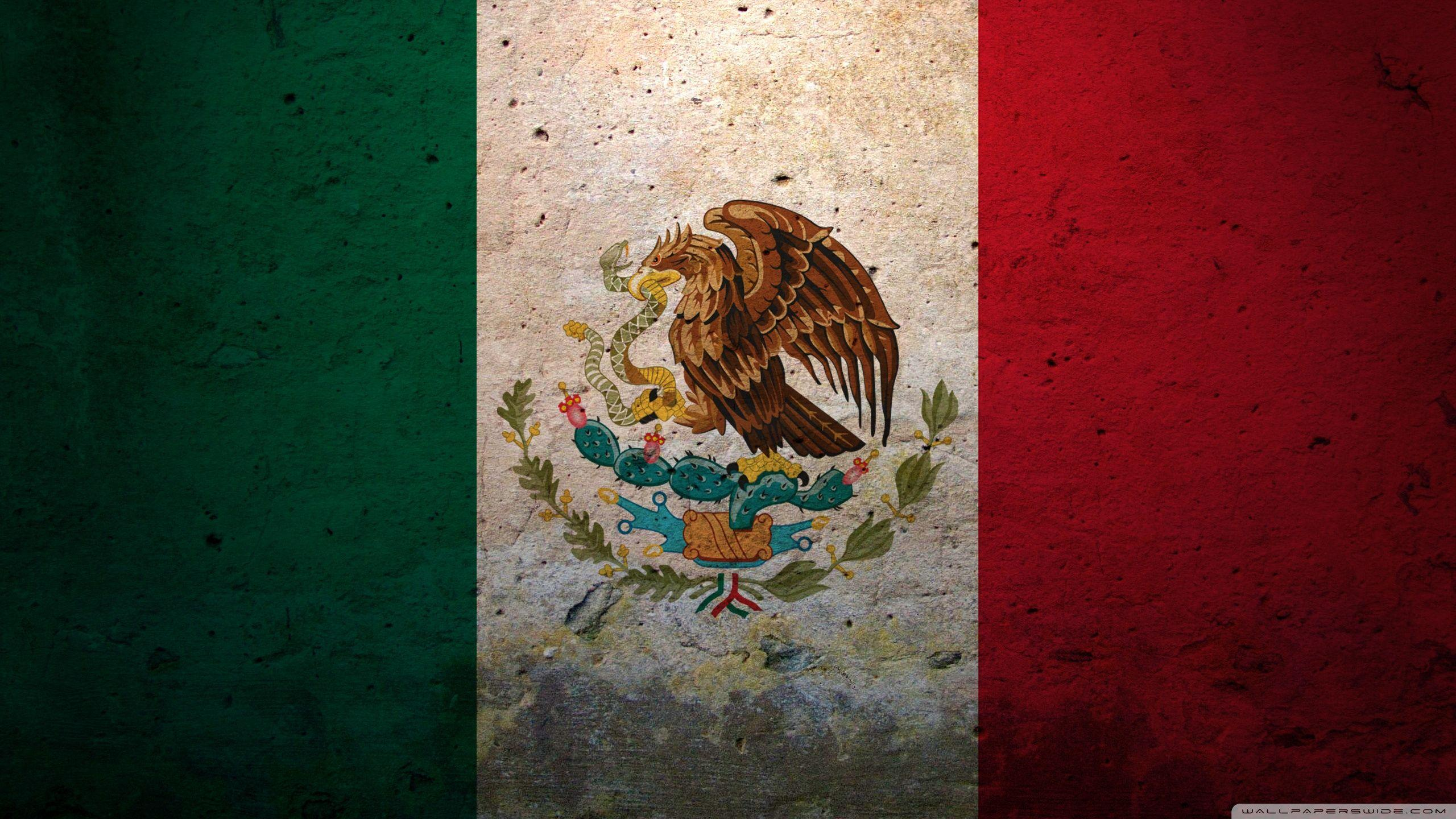 Grunge Flag Of Mexico ❤ 4K HD Desktop Wallpapers for 4K Ultra HD TV