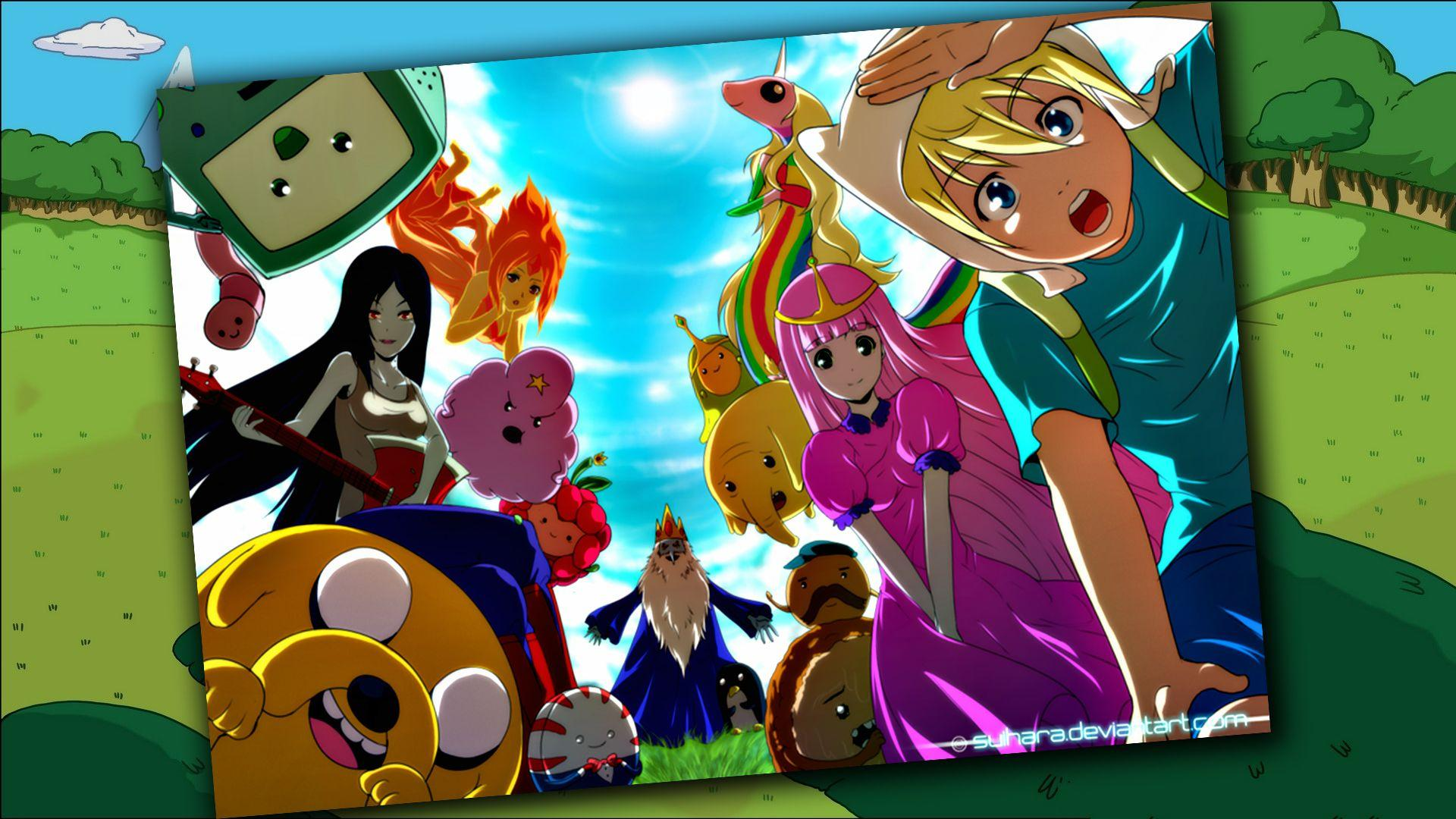 Anime Adventure Time Pictures adventure time finn anime wallpapers - wallpaper cave