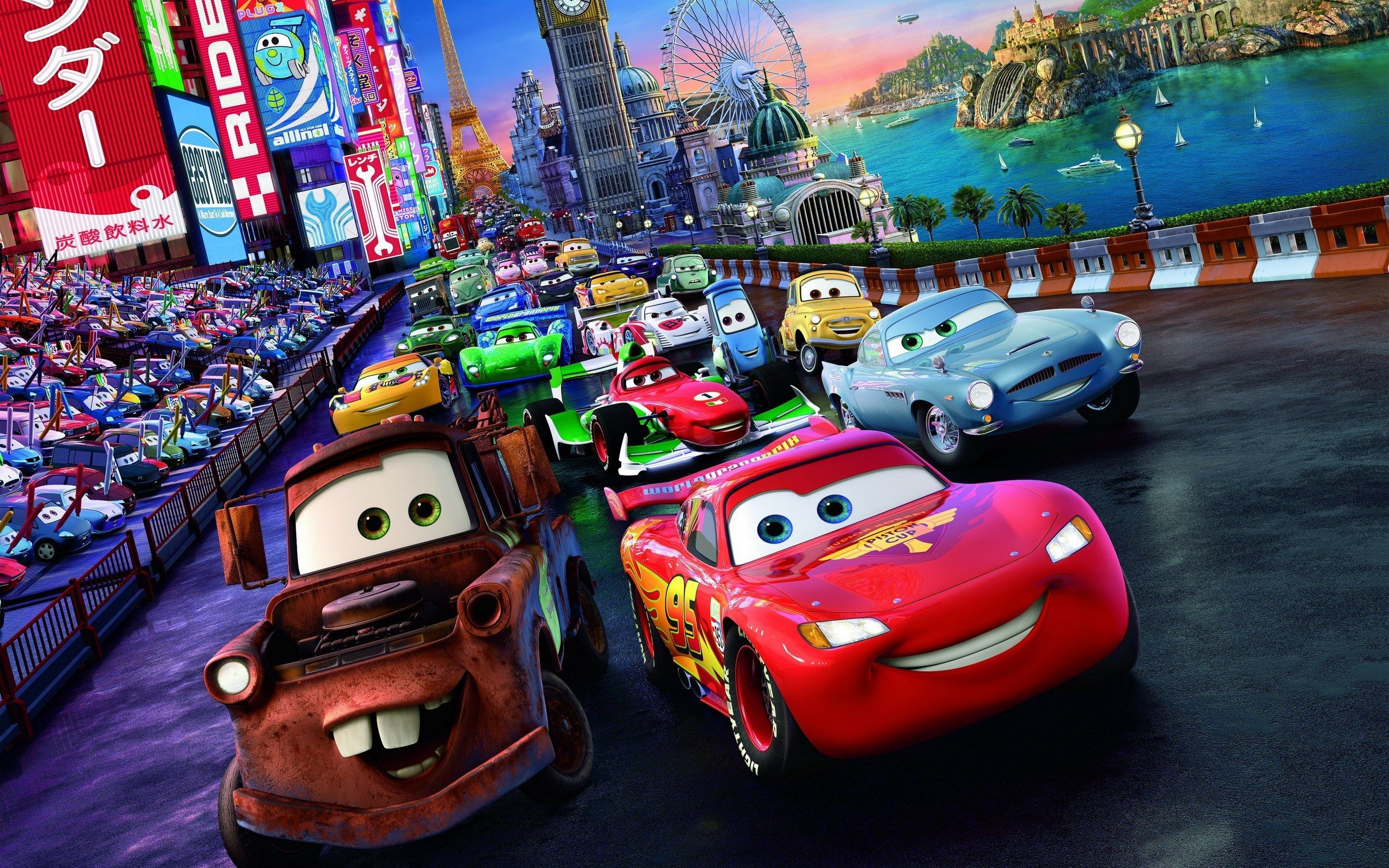 Disney pixar cars wallpapers hd wallpaper cave - Disney cars wallpaper ...