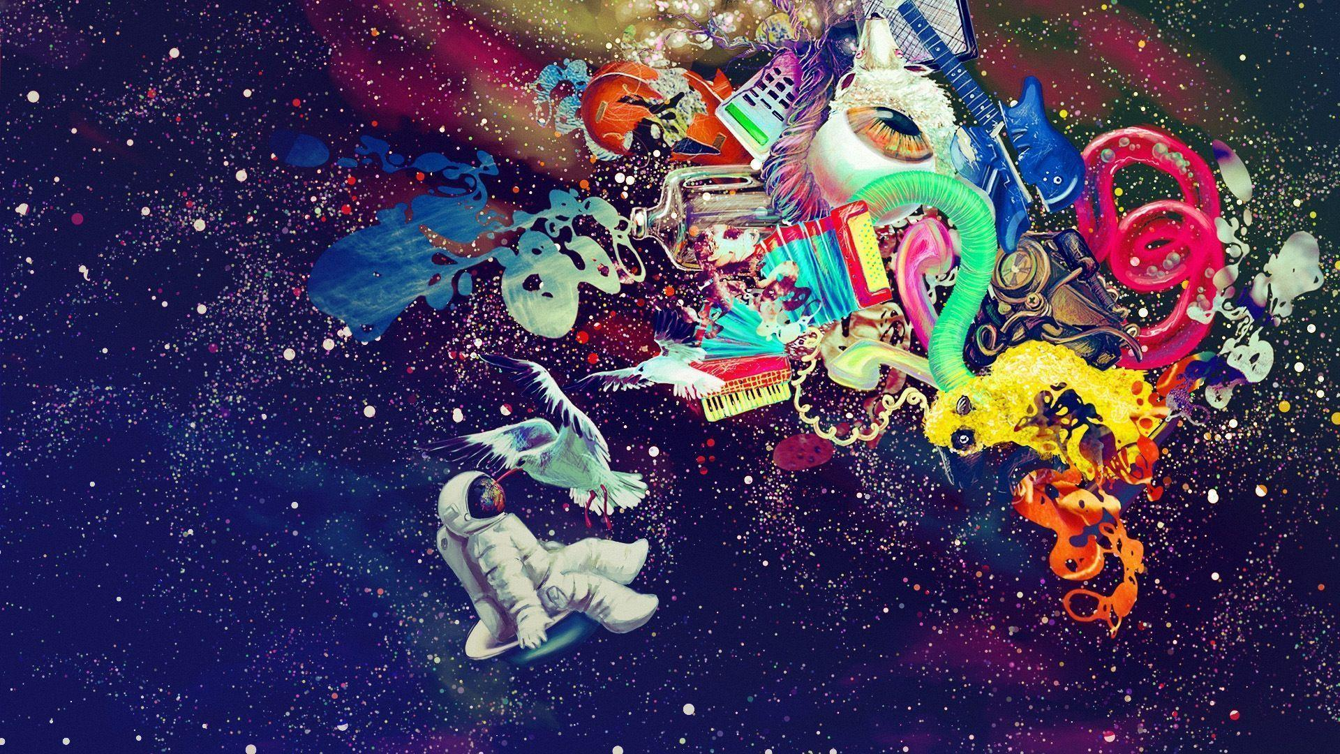Trippy Wallpapers Hd Tumblr Space