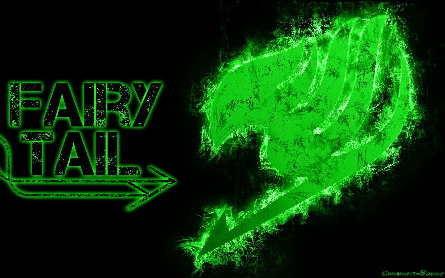 Fairy Tail green logo
