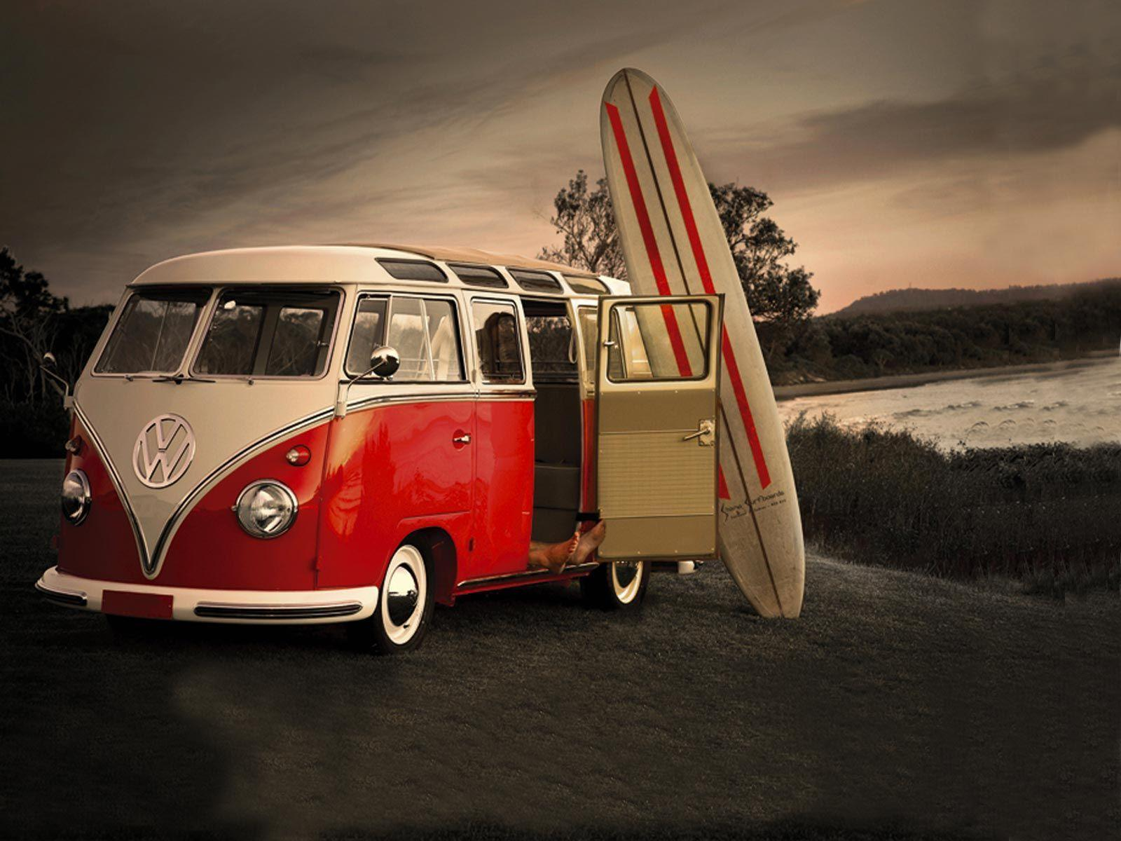 Volkswagen Bus Wallpapers HD