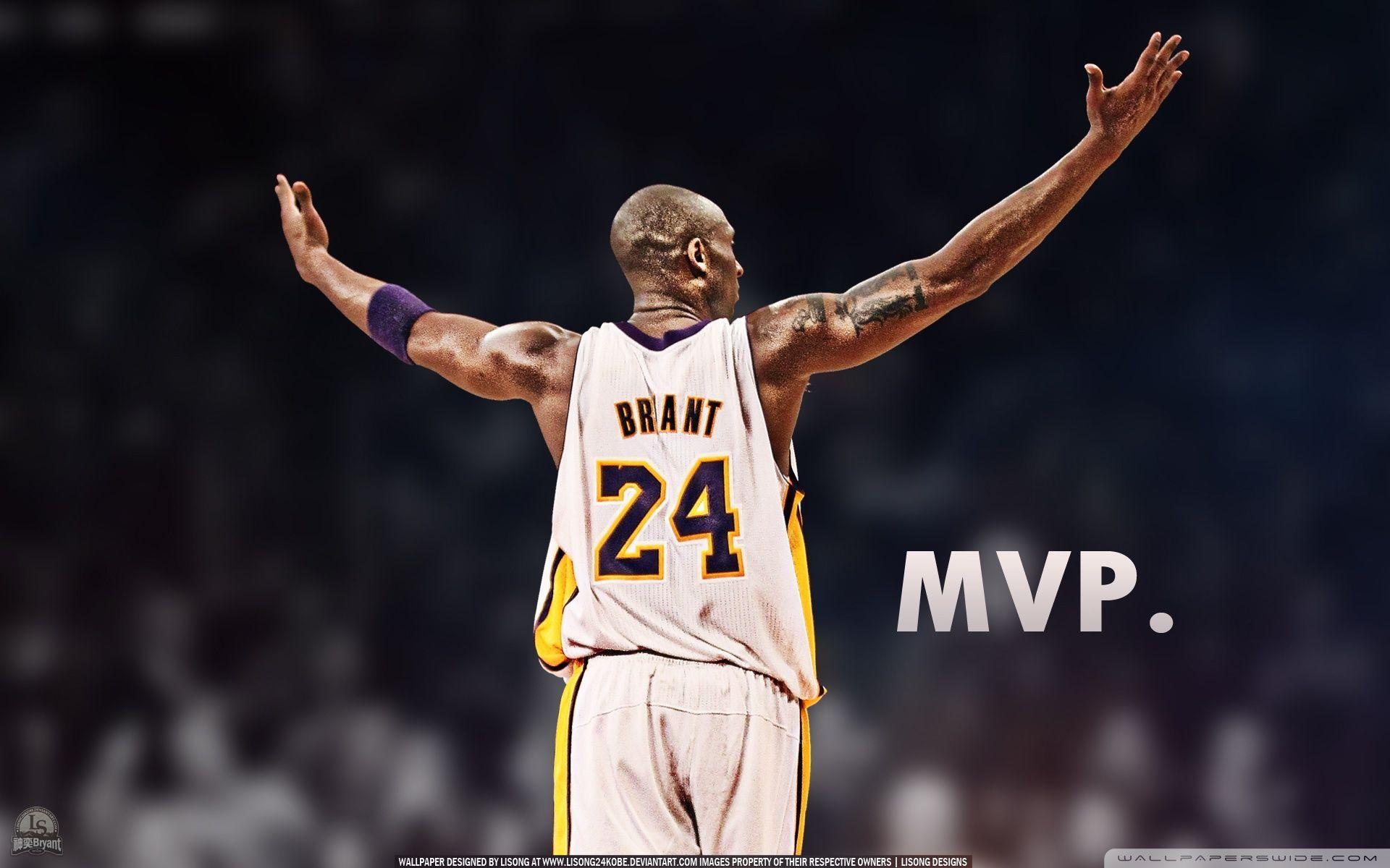 timeless design 44e9f 547cf Kobe Bryant is the MVP   VIP Wallpaper   HD Wallpapers for Desktop .