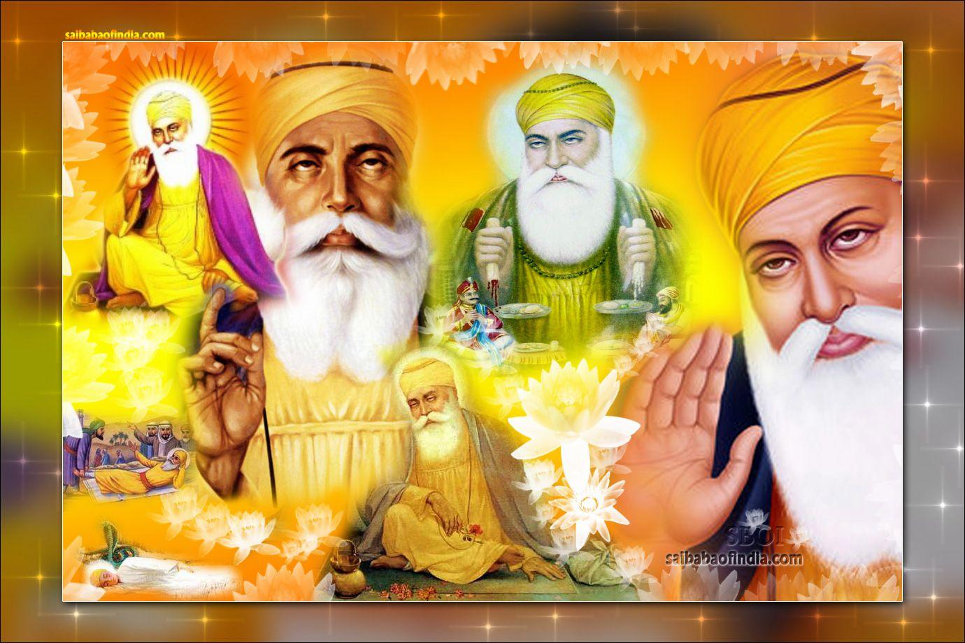 Guru-Nanak-dev-ji-Sikh-guru-his-life-birth - wallpaper