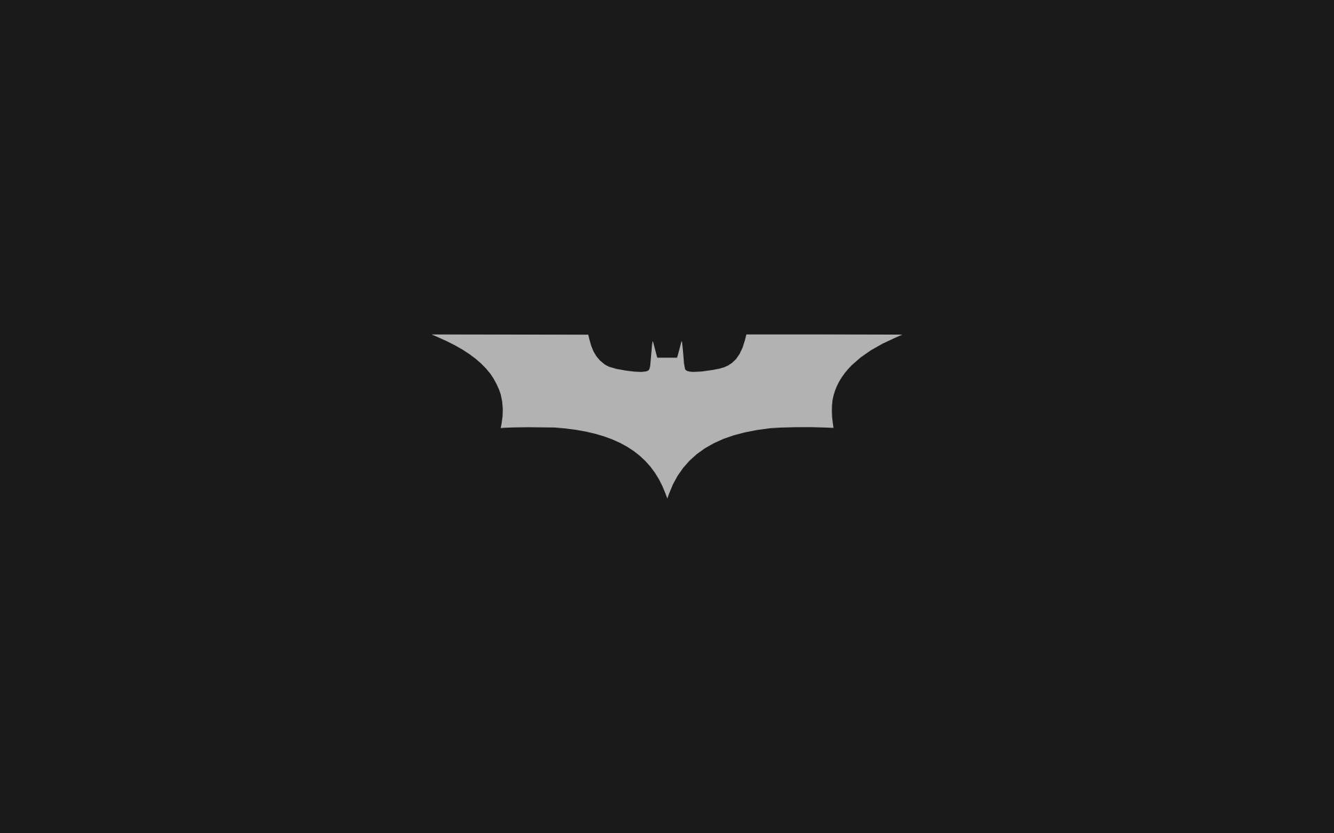 Batman Minimalist Wallpapers Wallpaper Cave