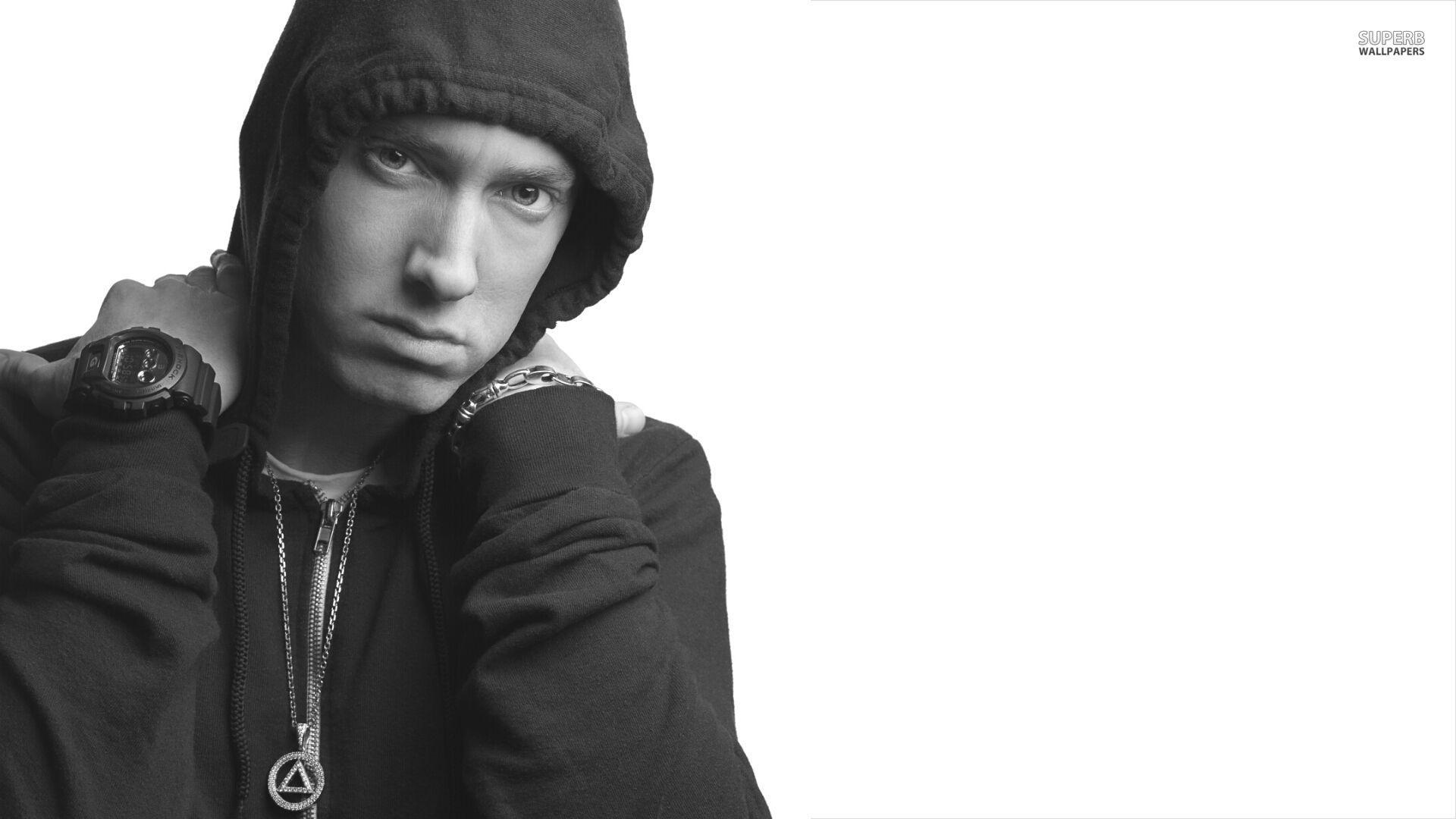 Eminem Wallpapers Black White Wallpaper Cave