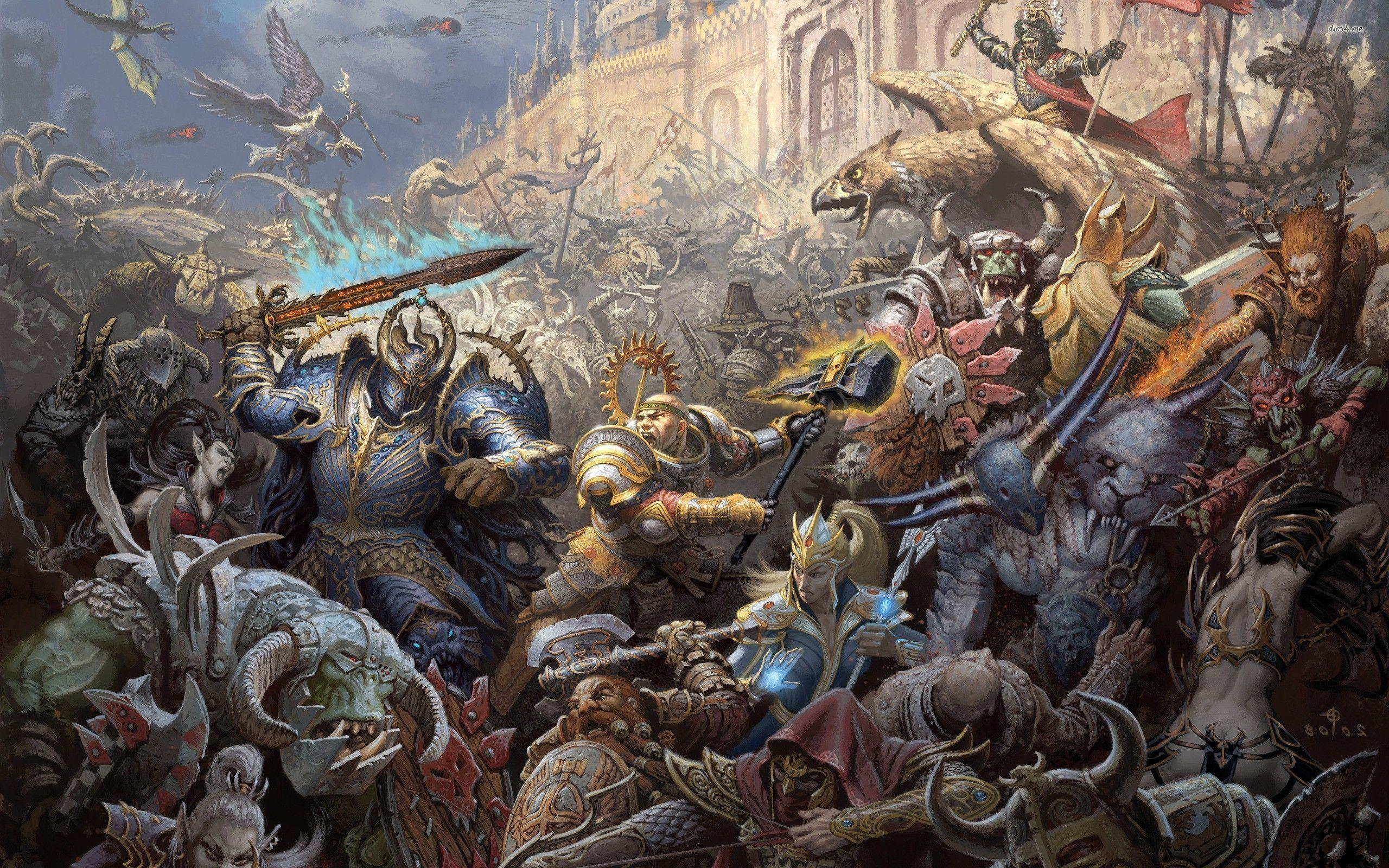 Warhammer Fantasy Wallpapers Wallpaper Cave
