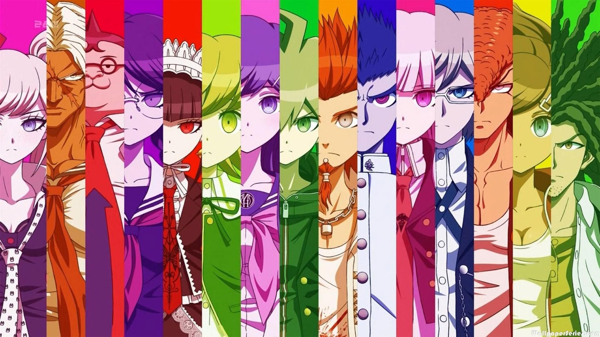 HD Danganronpa 2 Goodbye Despair PS Vita Characters Wallpaper
