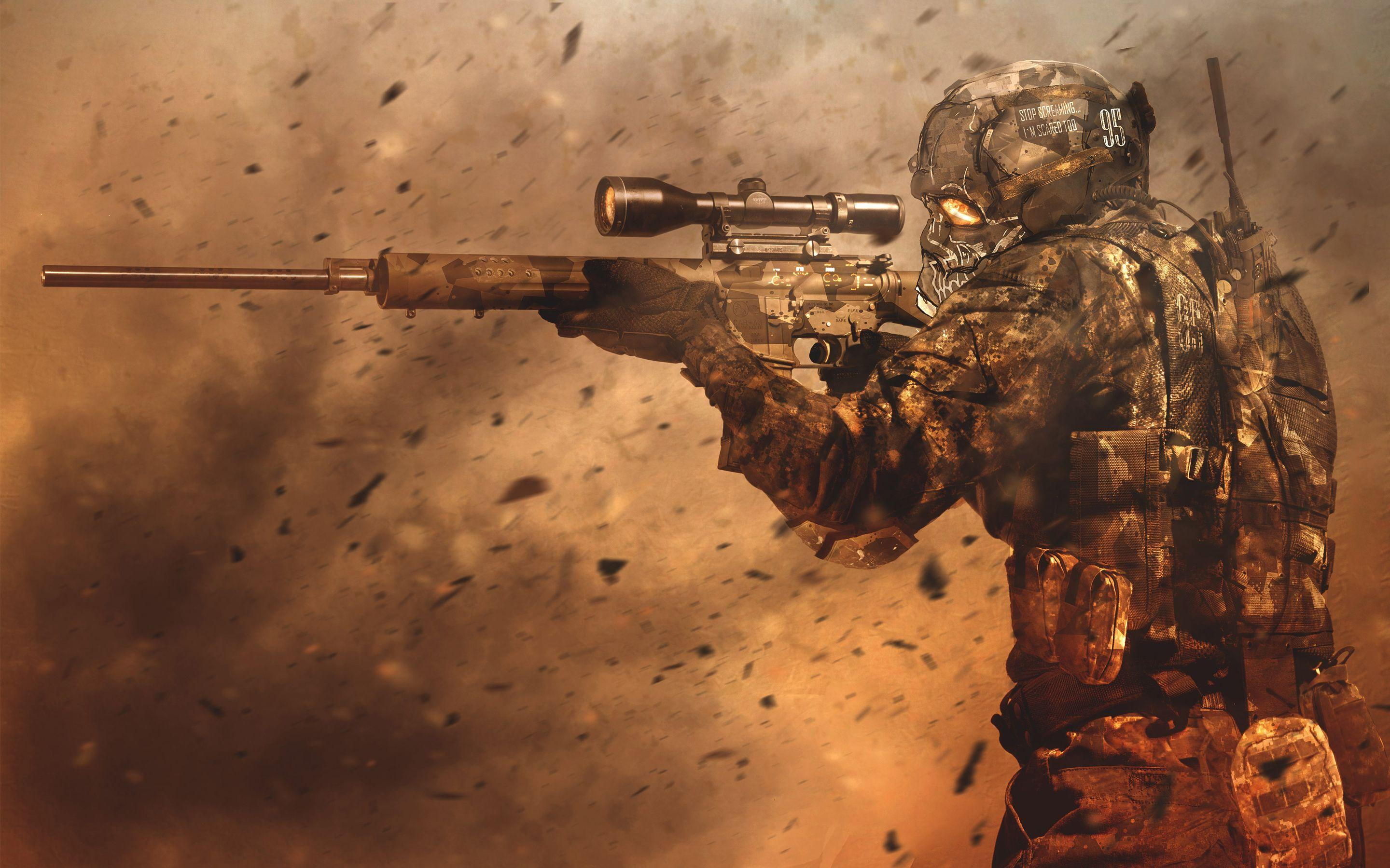 Sniper Hd Wallpapers Wallpaper Cave