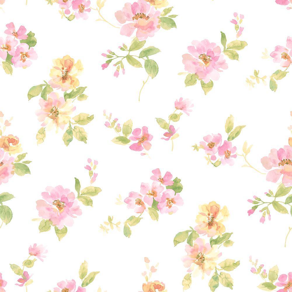 Watercolor Flowers Wallpapers Wallpaper Cave