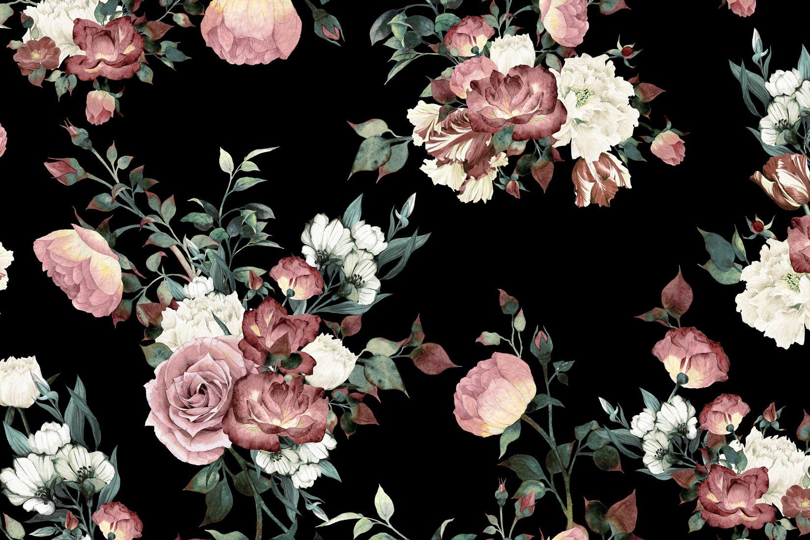 Floral Wallpapers Wallpaper Cave