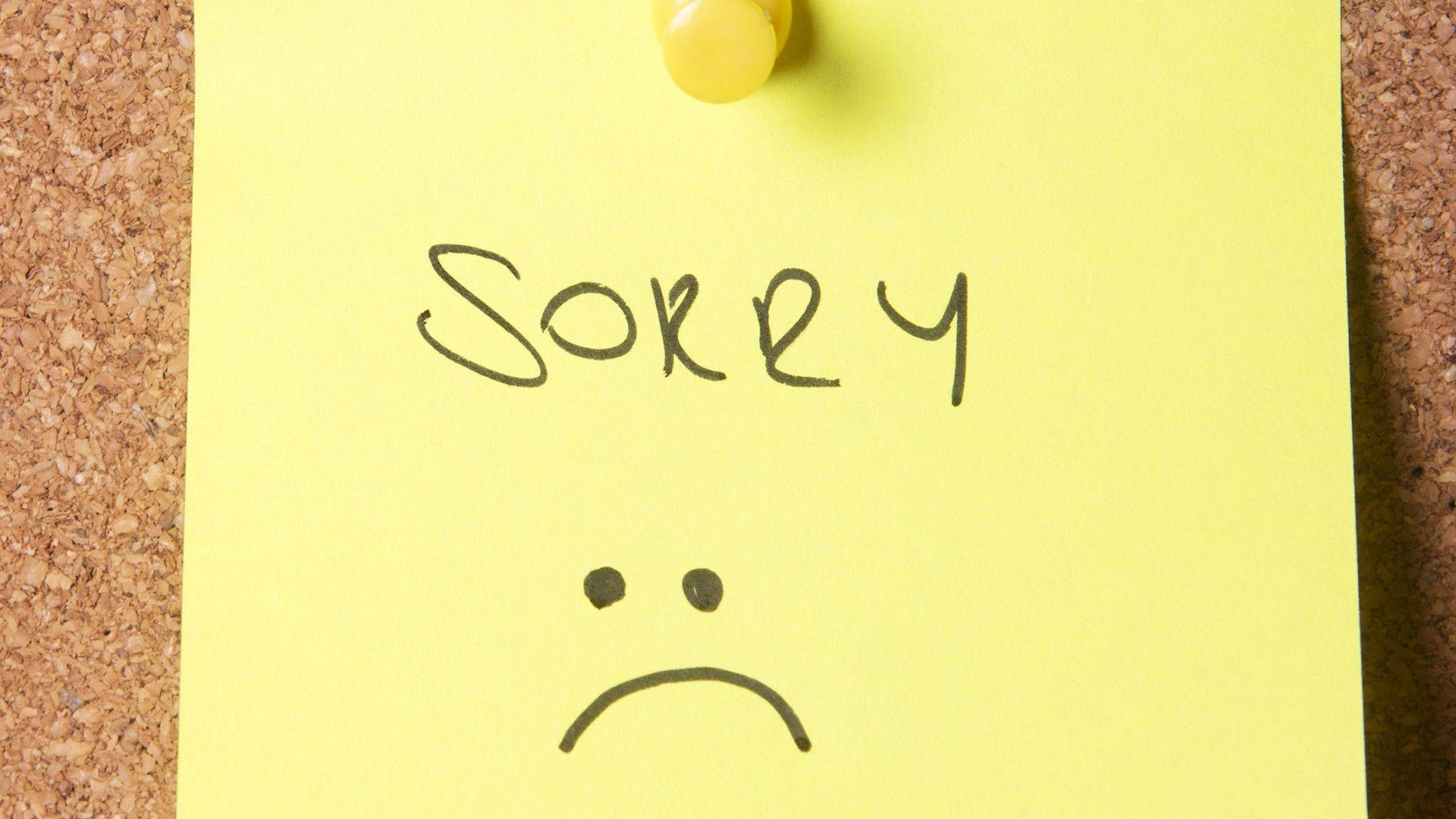 Sorry Hd Wallpapers Wallpaper Cave