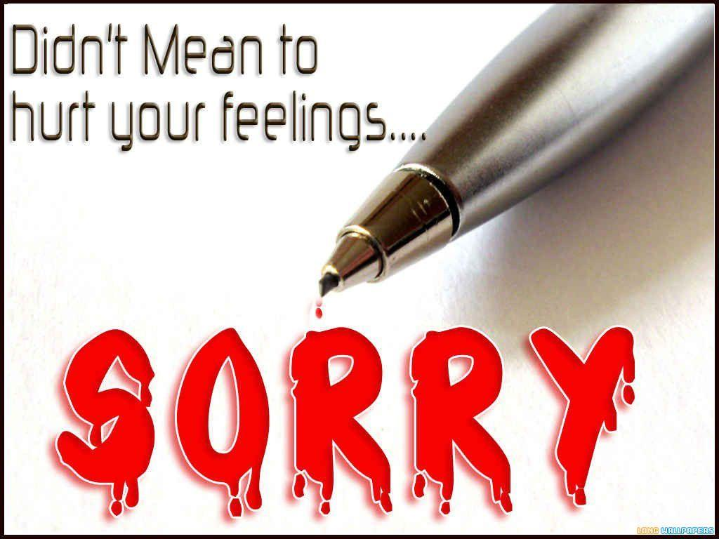 Sorry Hd Wallpapers | Wallpapers Catalog | Pinterest | Hd wallpaper .