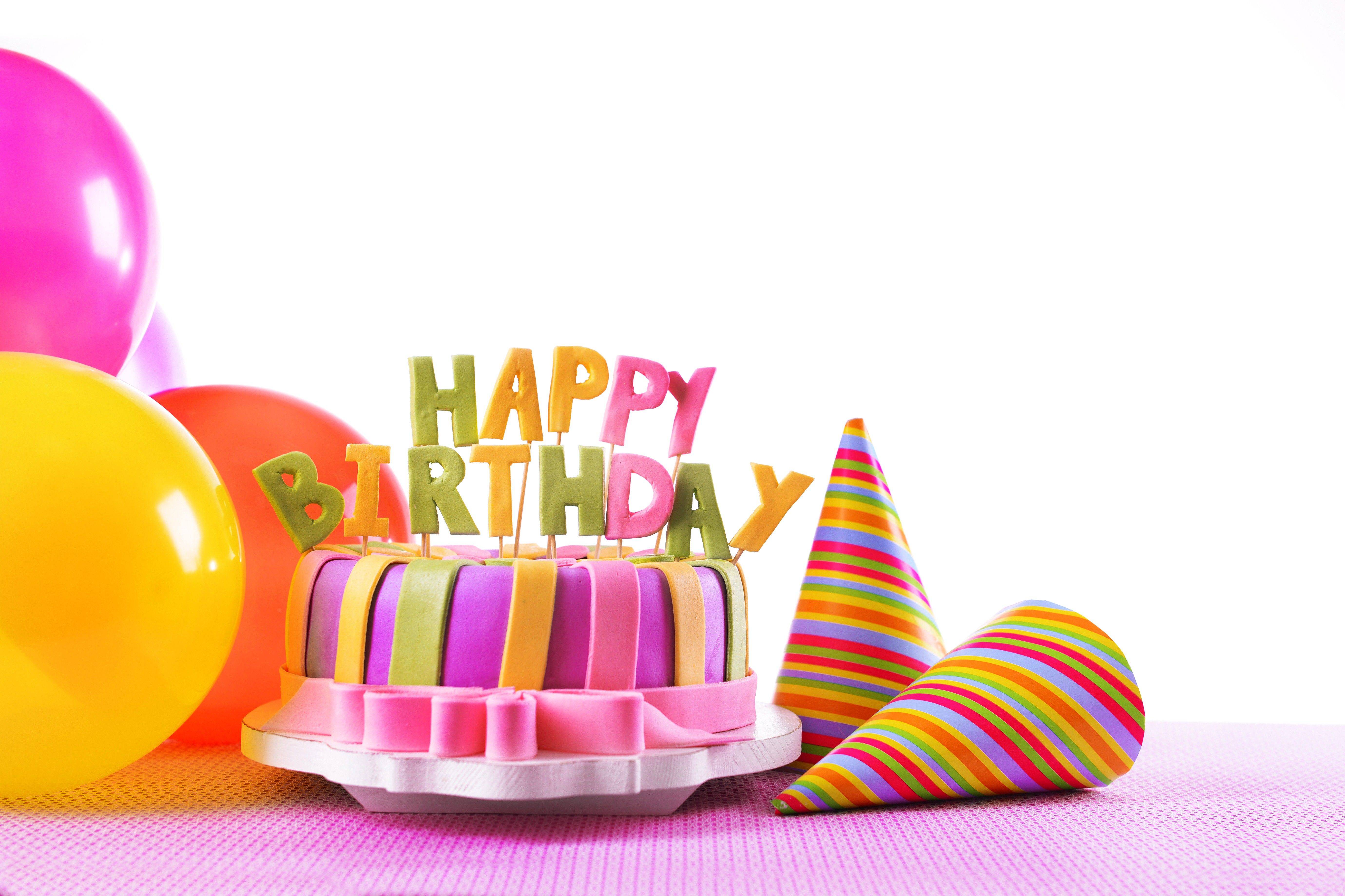 Happy Birthday on Cake HD Wallpapers