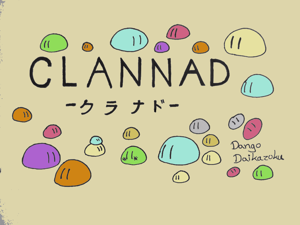 Dango Daikazoku Wallpapers Wallpaper Cave