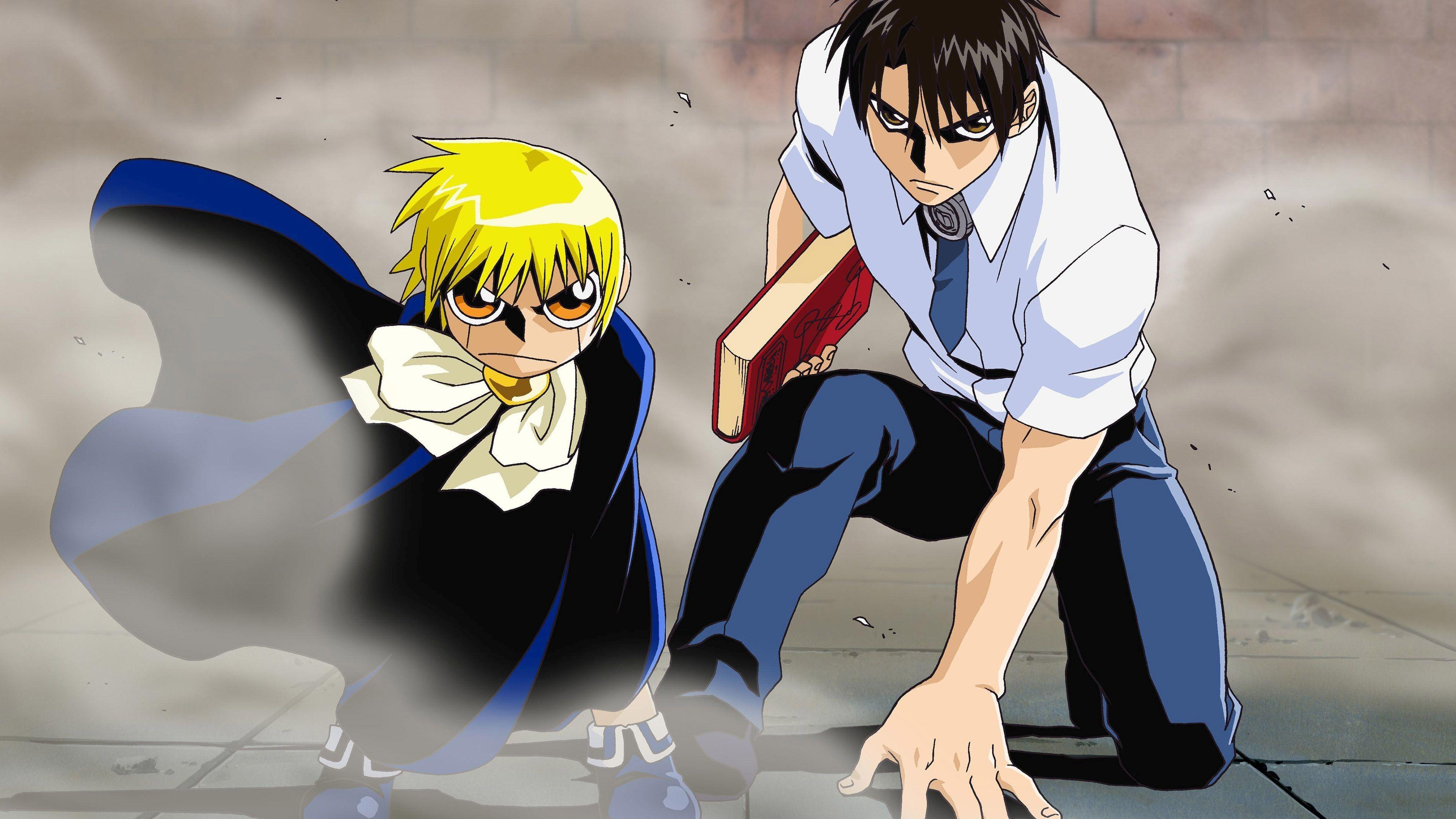 Zatch Bell Wallpapers Hd Wallpaper Cave