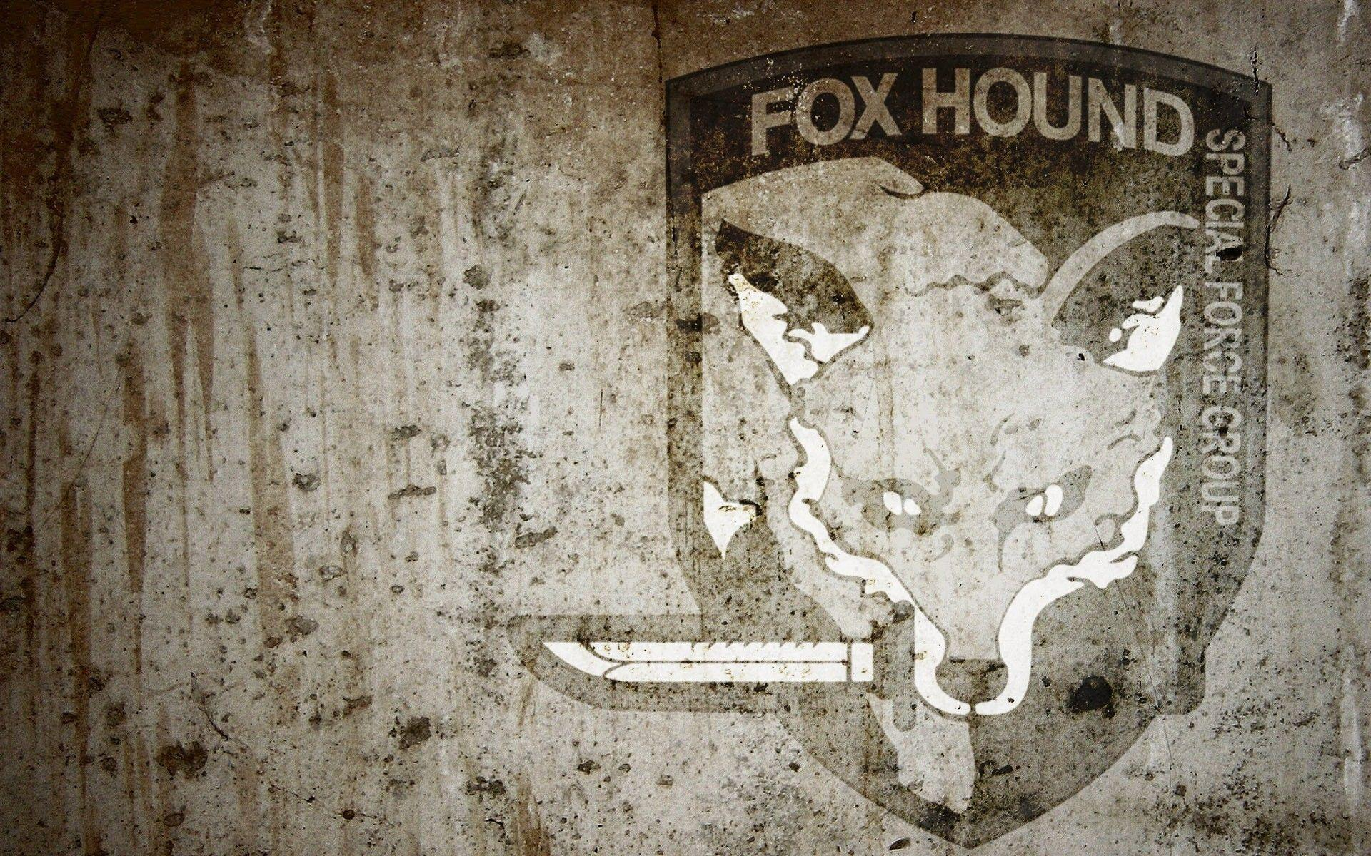 Foxhound Wallpapers Metal Gear ✓ HD Wallpapers