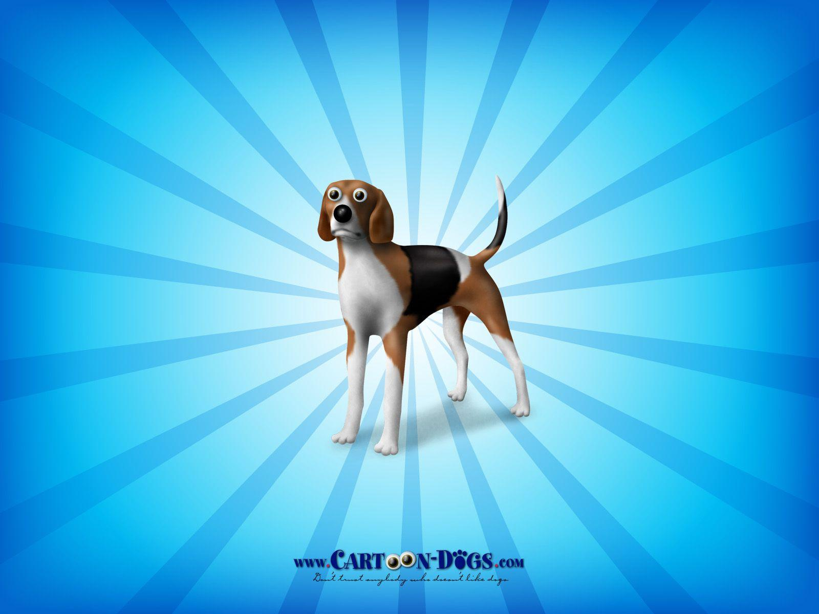 Cartoon Dogs image American Foxhound HD wallpapers and backgrounds