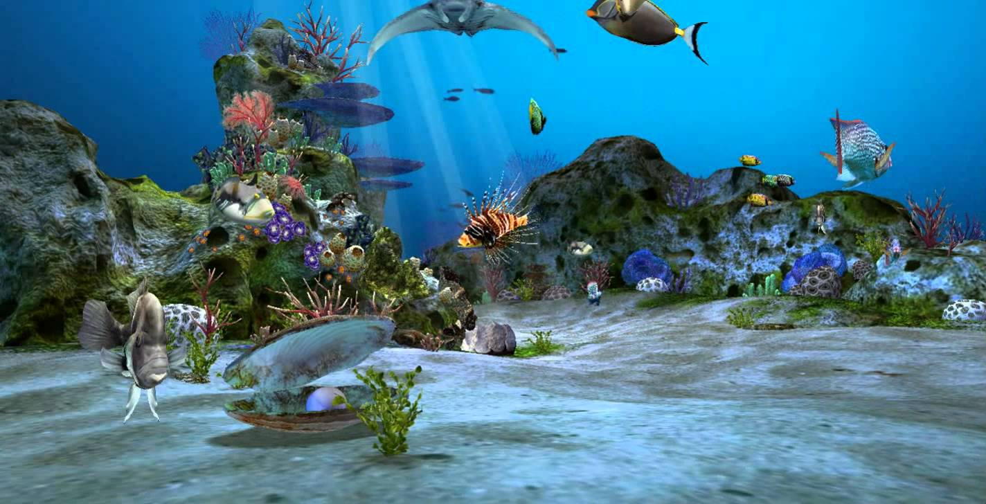 Amazingly Beautiful 3D Aquarium Live Wallpapers Wallpapers