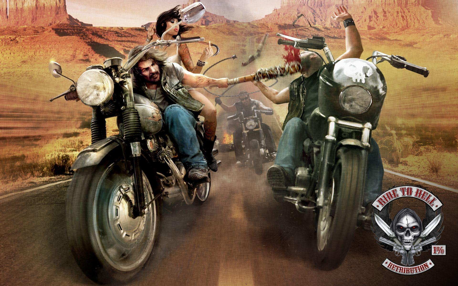 Outlaw Biker Wallpaper 61
