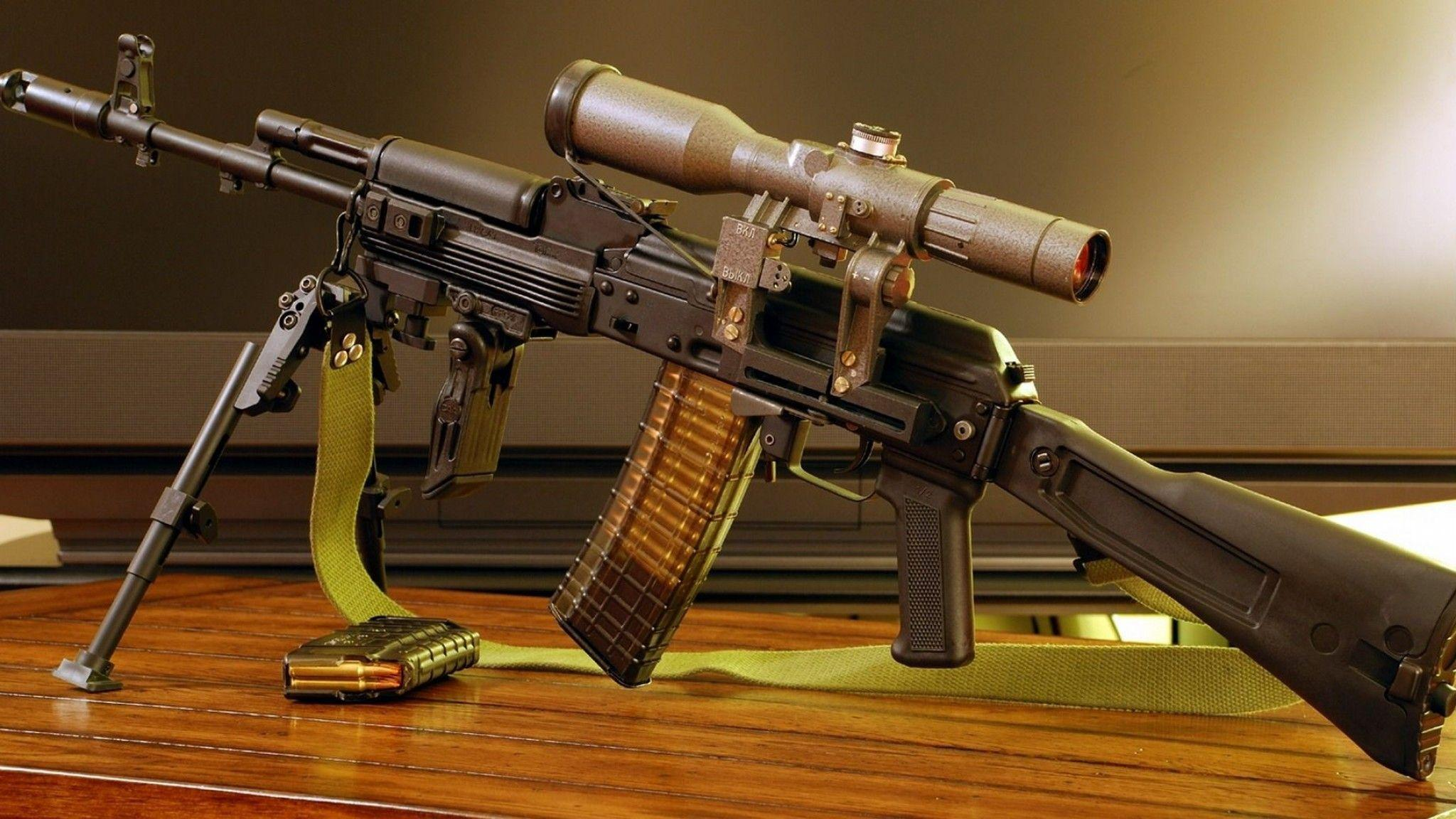 KALASHNIKOV AK 47 Weapon Gun Military Rifle Ammo H Wallpaper