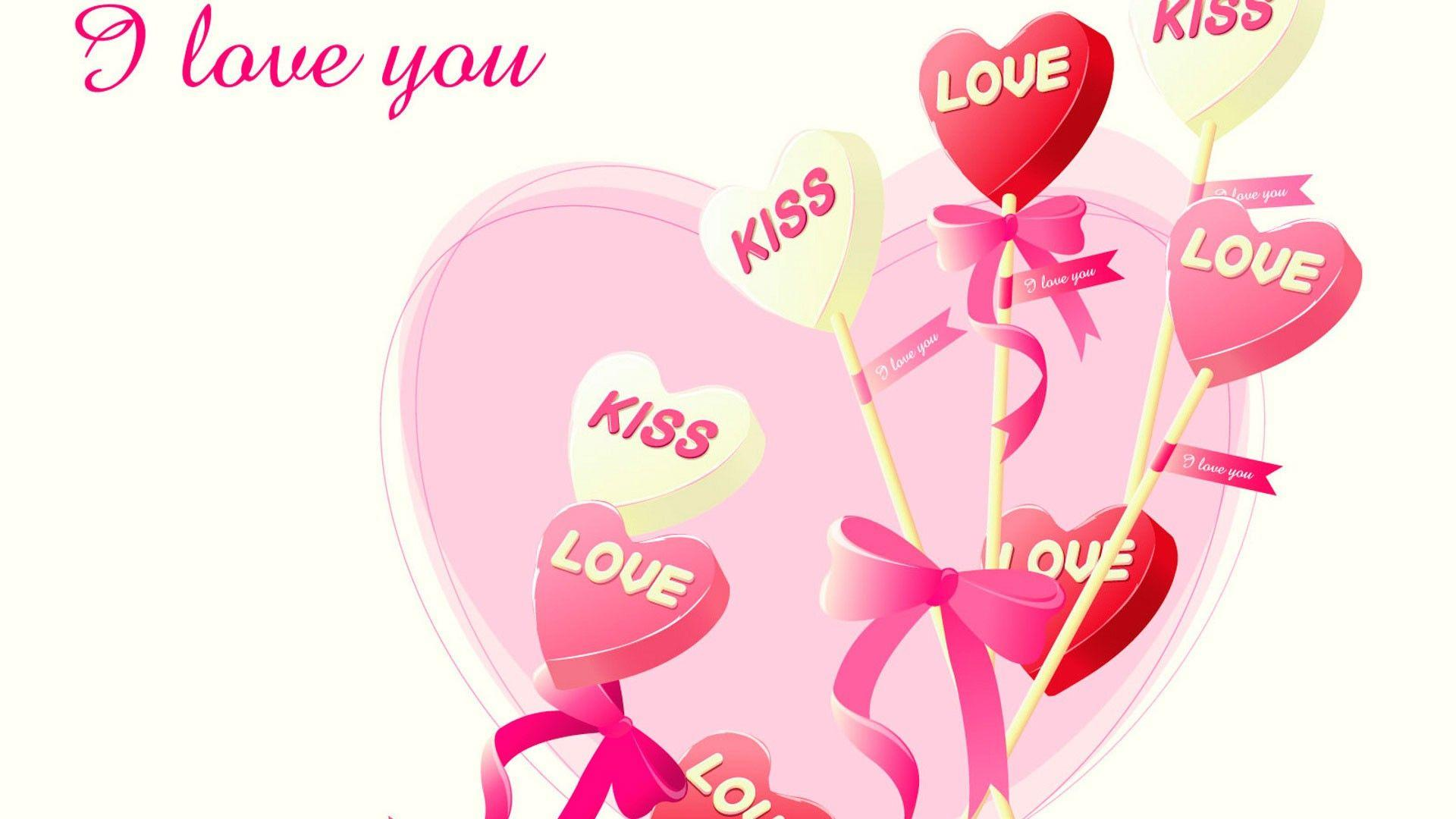 i love you images download kiss