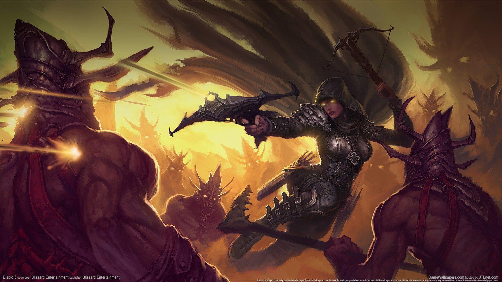 Demon Hunter Diablo 3 Wallpapers Wallpaper Cave