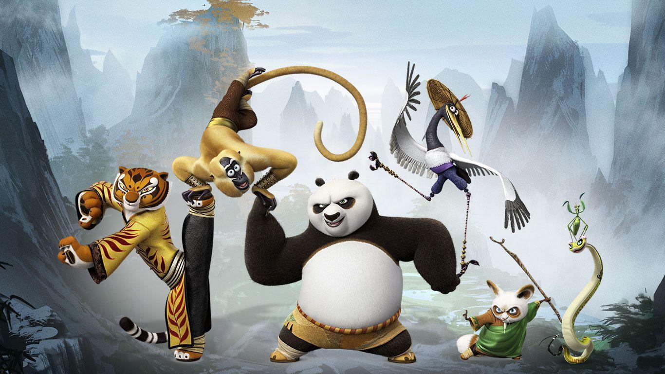все герои кунг фу панда тридцать километров
