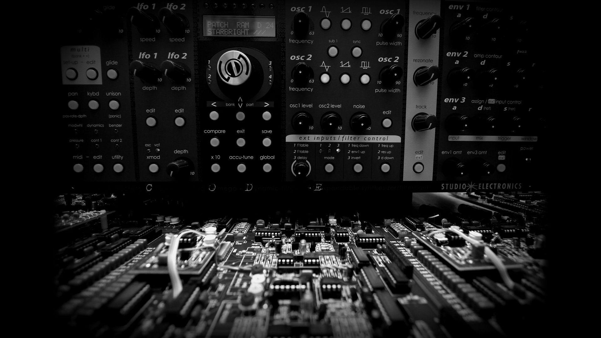 Synthesizer Wallpapers Hd Wallpaper Cave