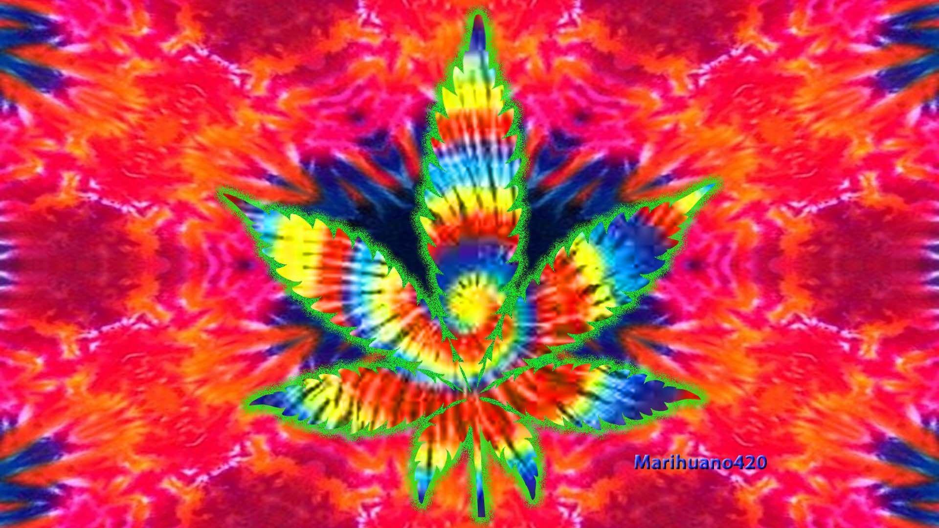 Trippy Hippie Wallpaper 1